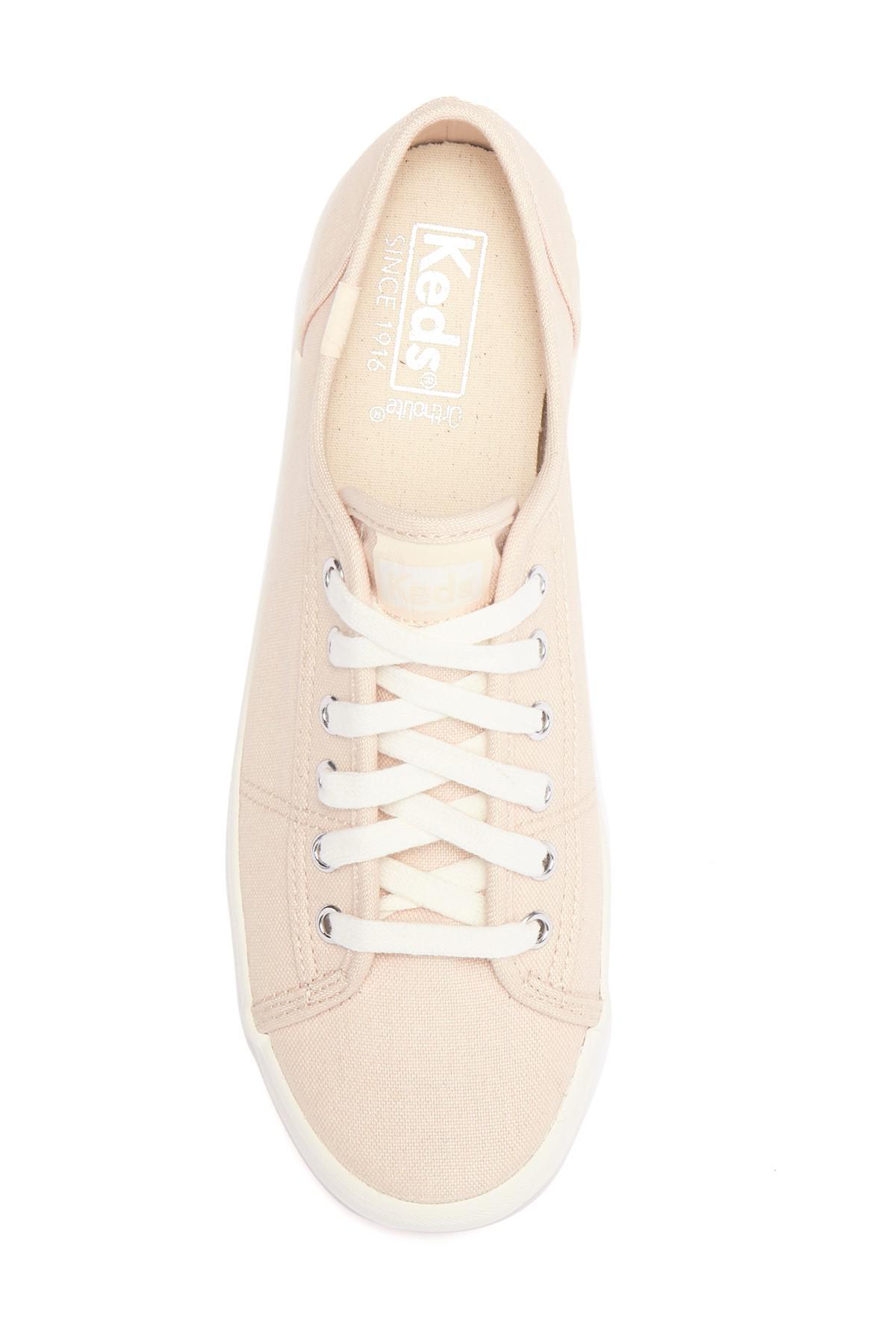 Keds Lace Kickstart Chambray Sneaker in