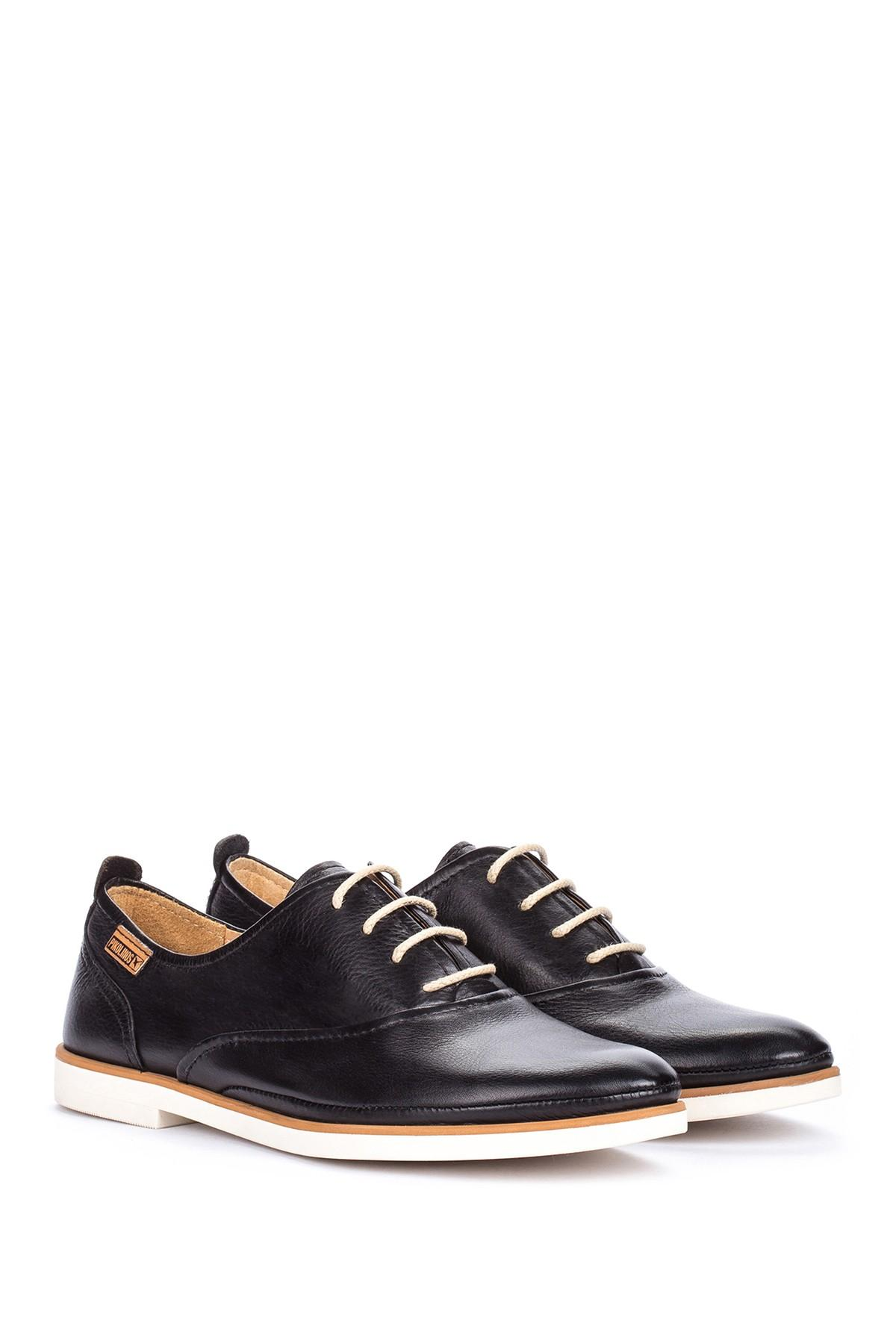 9416e6e415e Lyst - Pikolinos Santorini Leather Oxford in Black