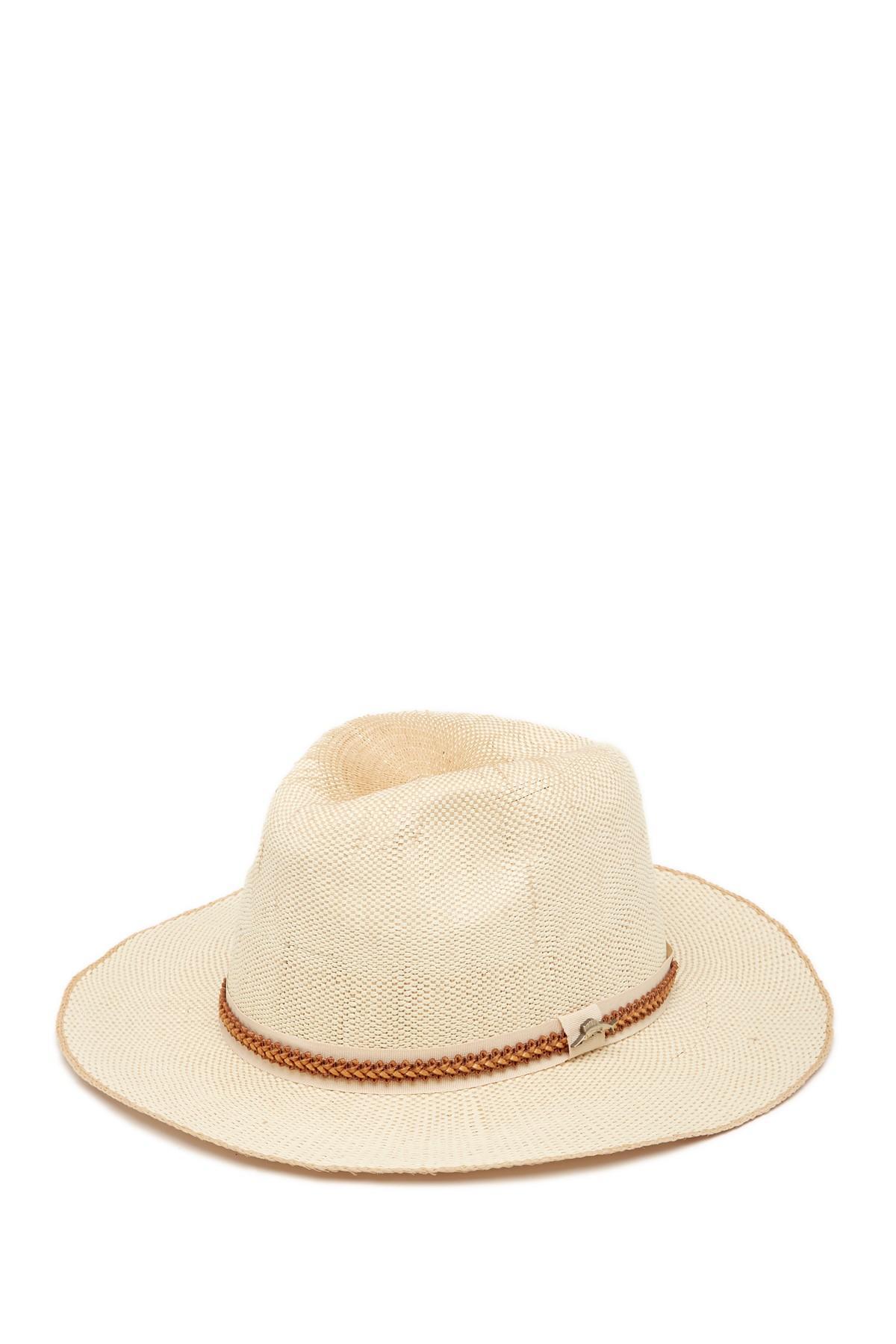 ecbfbc376ee04 Lyst - Tommy Bahama Bangkok Toyo Safari Hat in Natural for Men