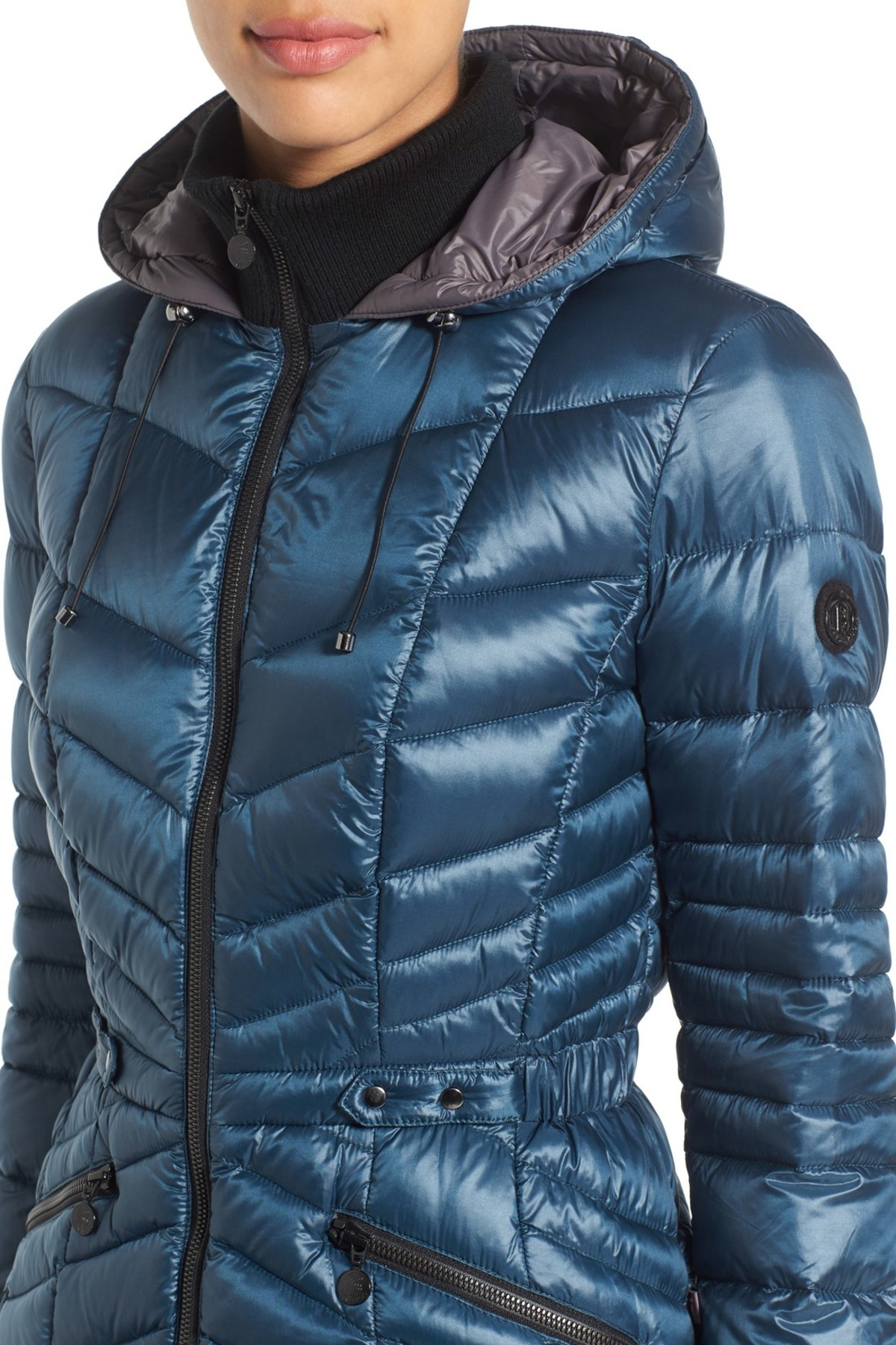 Bernardo Synthetic Packable Jacket With Down & Primaloft(r ...