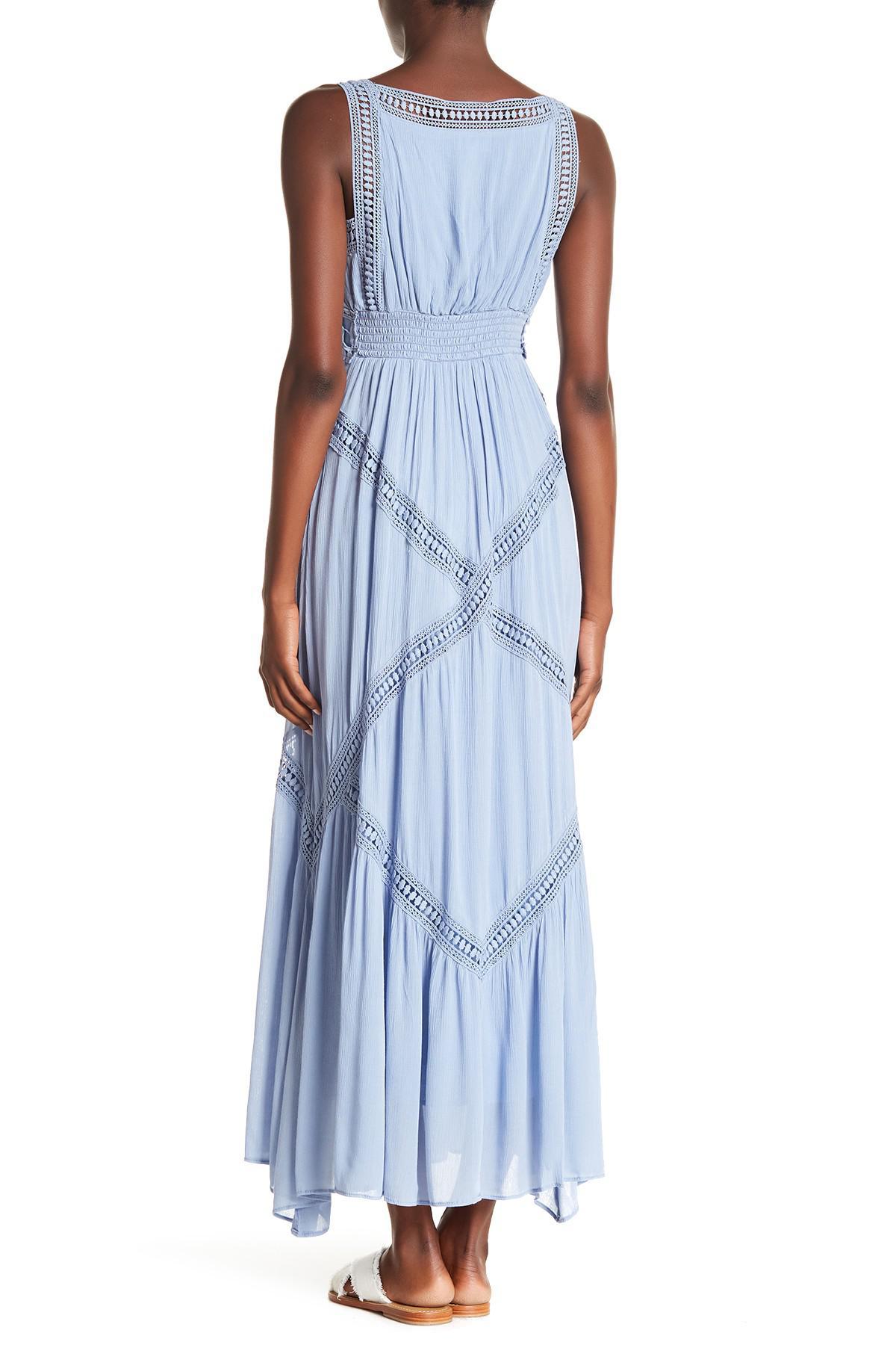 shopping genuine enjoy lowest price Crochet Lace Maxi Dress