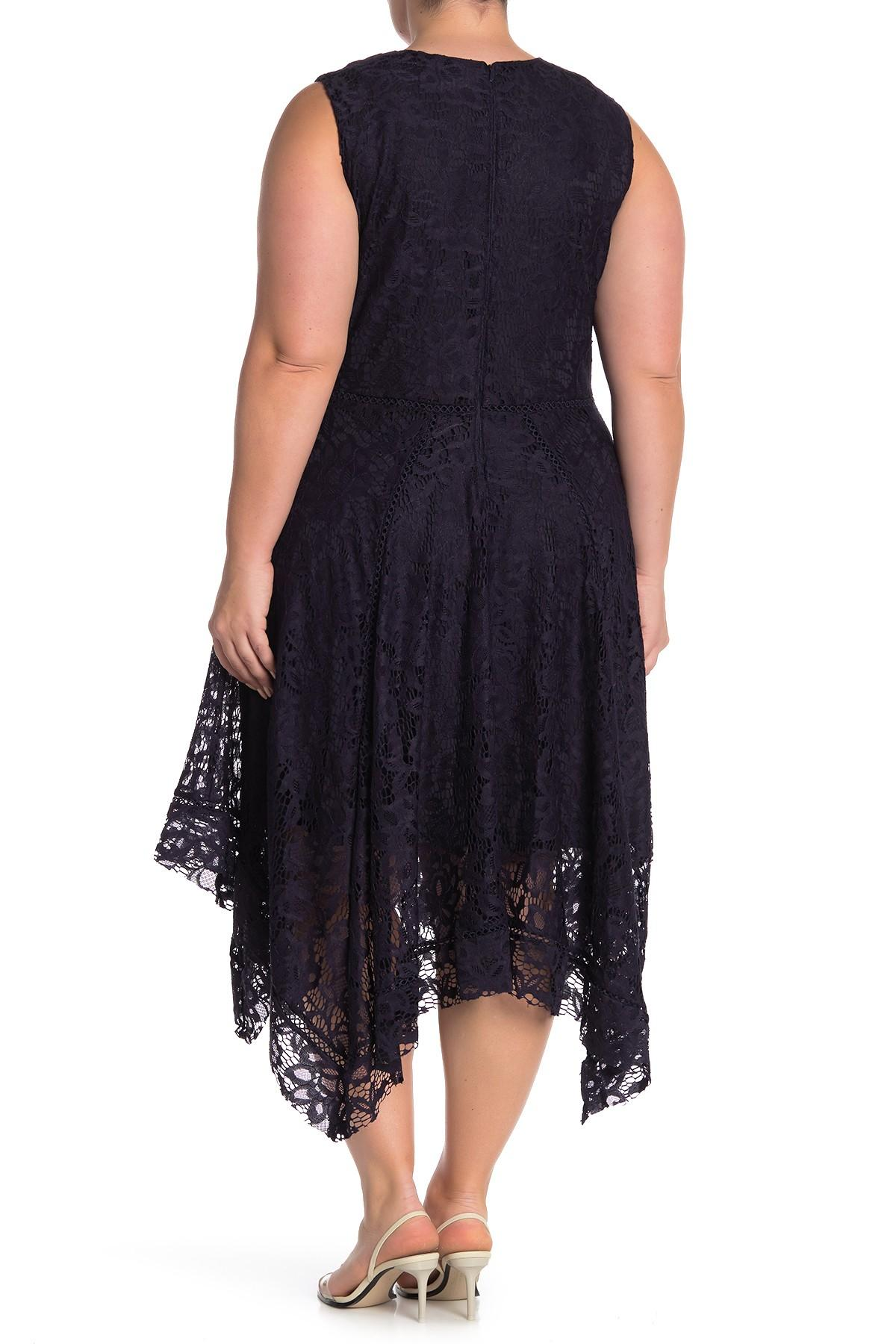 Lyst Taylor Dresses Floral Lace Sleeveless Midi Dress