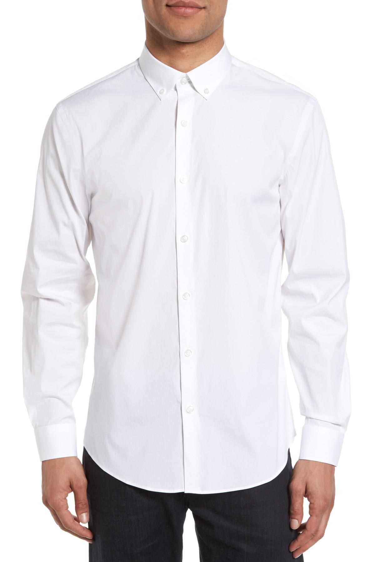 Calibrate Trim Fit Slash Pocket Sport Shirt Outlet Online 7LIK2Xq