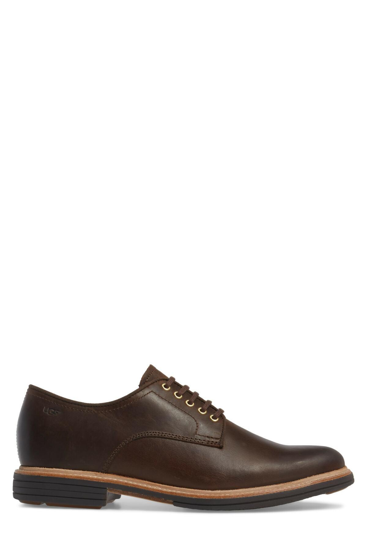 0087b1336cc Ugg Brown Jovin Buck Shoe for men