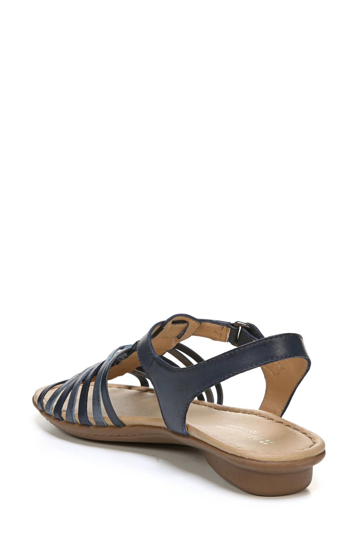 Naturalizer Wade Strappy Sandal In Blue Lyst