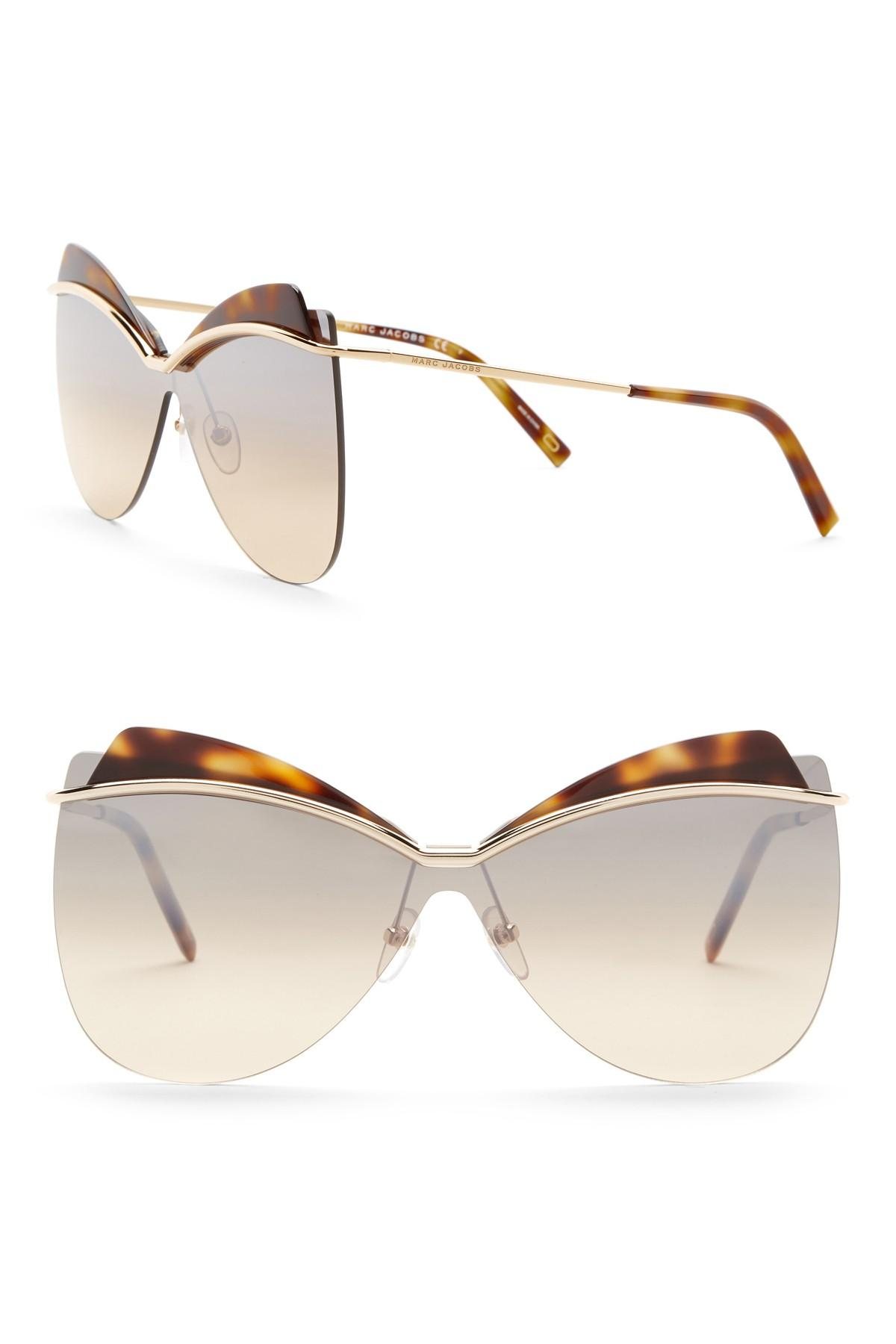 54cea680478 Marc Jacobs - Multicolor 73mm Cat Eye Sunglasses - Lyst. View fullscreen