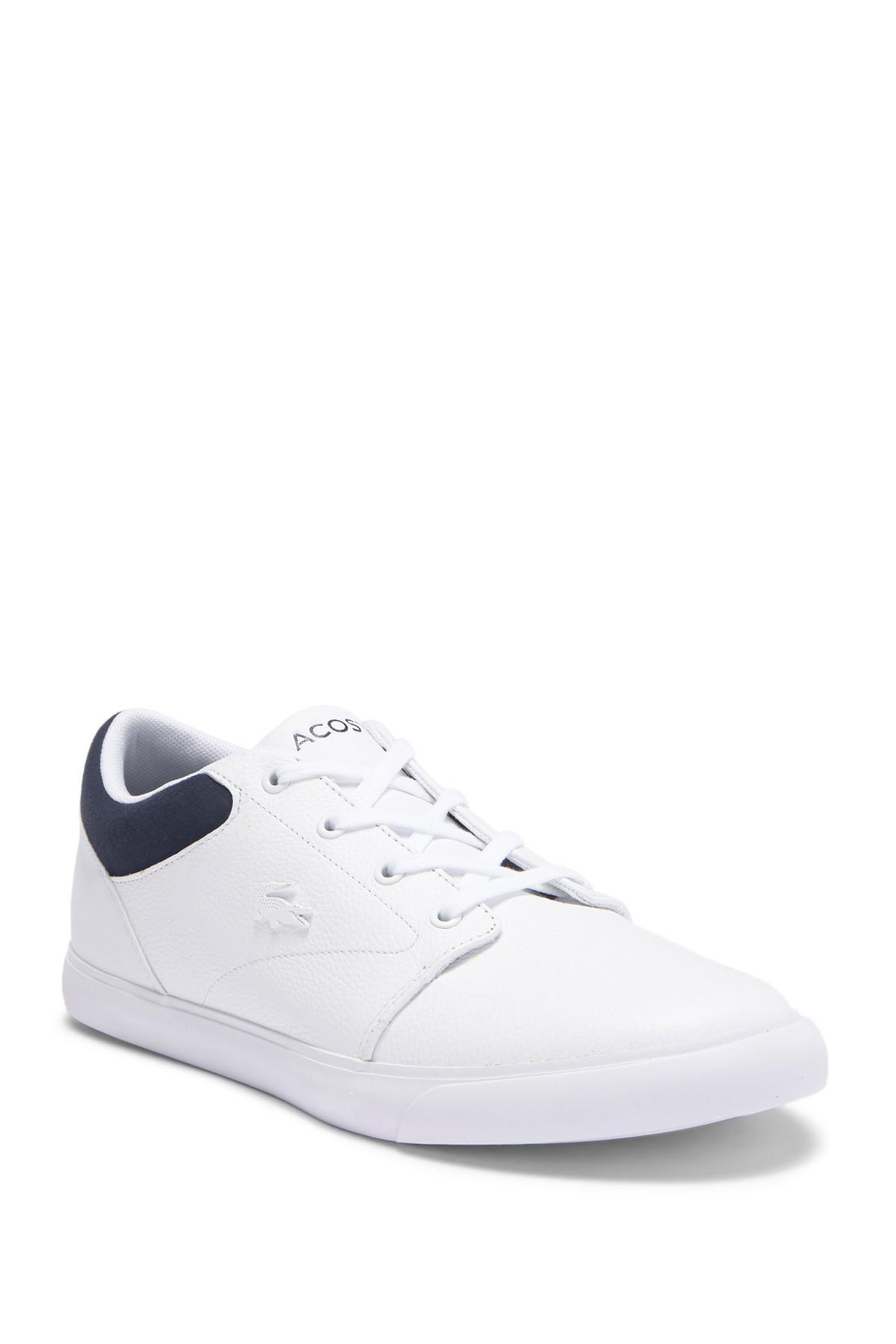 Lacoste Minzah 318 1 P Leather Sneaker