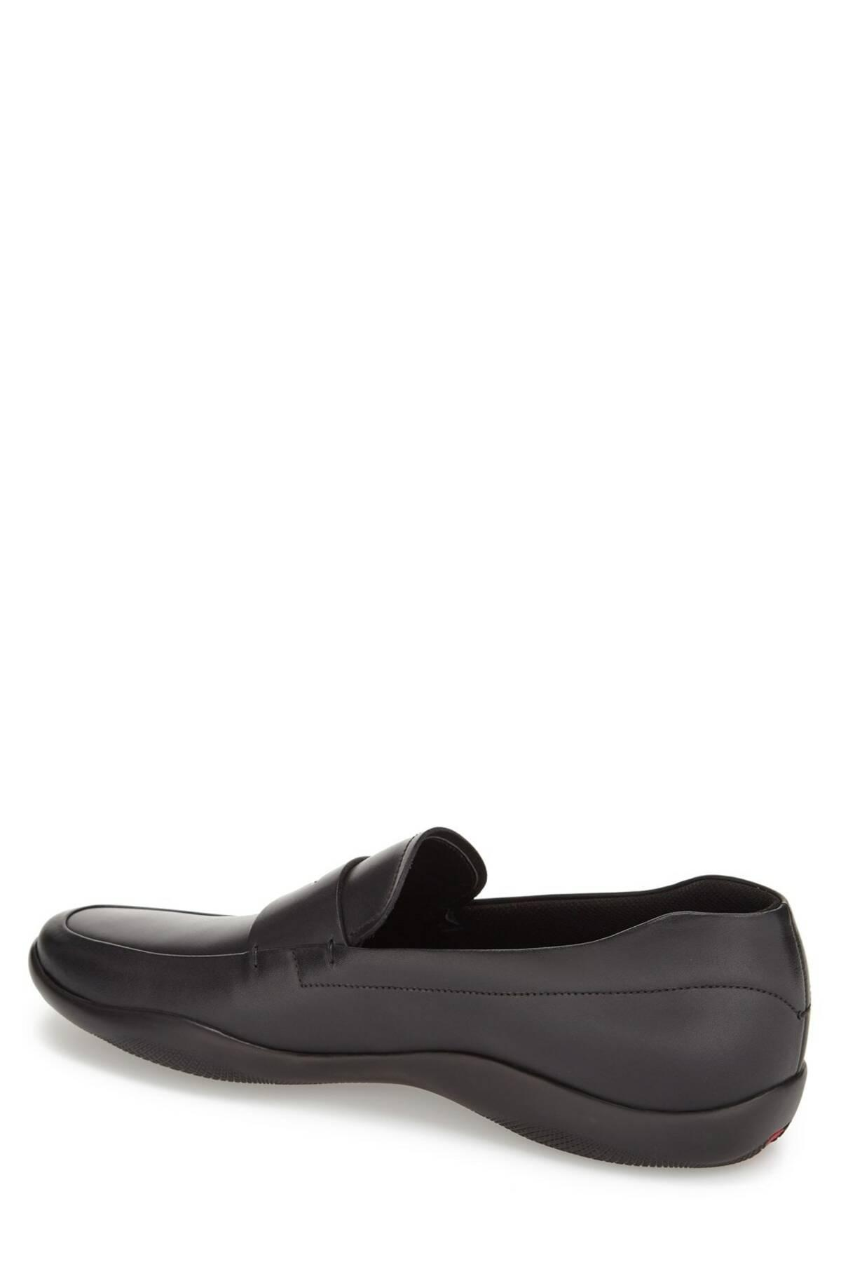 8ea5e2665 Prada Linea Rossa New Toblak Penny Loafer (men) in Black for Men - Lyst