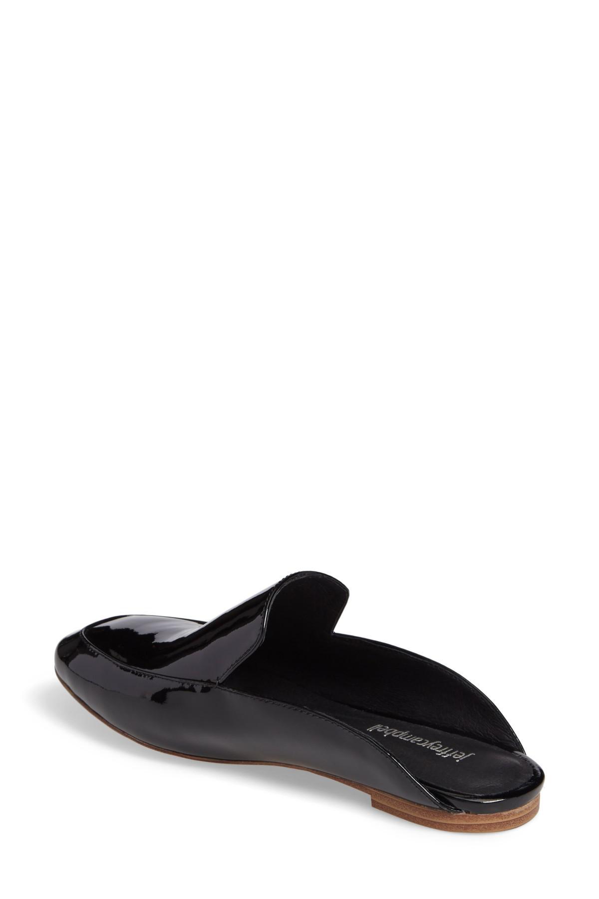 db0e0789072 Lyst - Jeffrey Campbell Worthy Loafer Mule (women) in Black