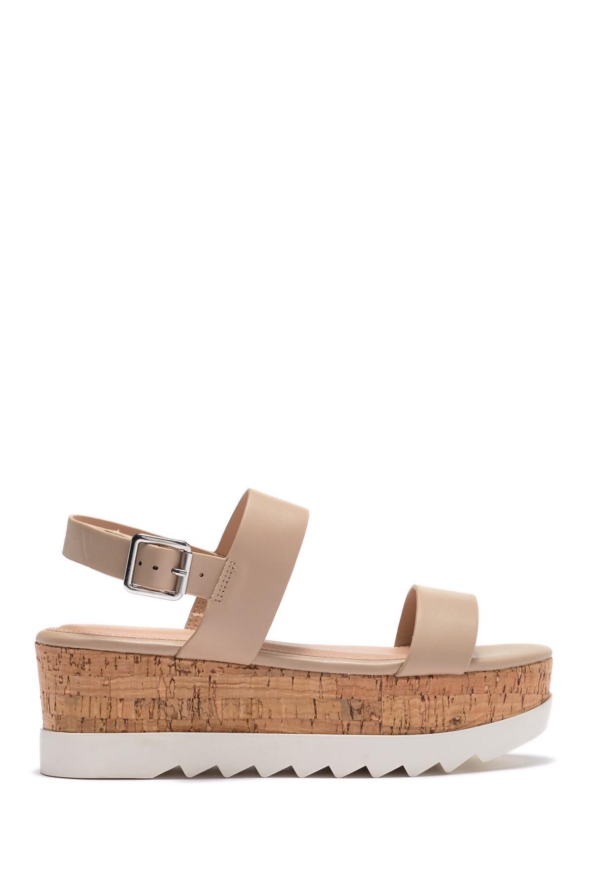 ceb12c49e992 Lyst - Madden Girl Sugar Platform Strappy Sandal