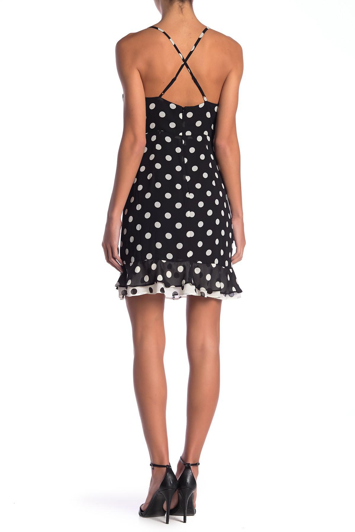 8ef5a15abe68 Bardot - Black Kinsley Printed Wrap Dress - Lyst. View fullscreen