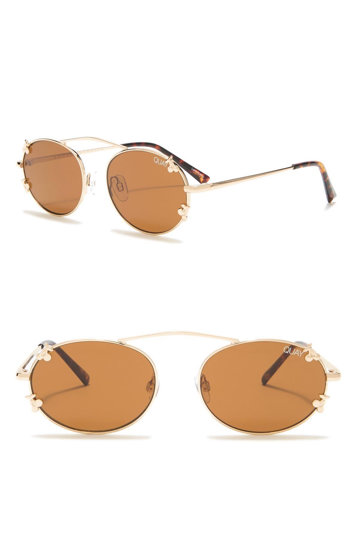56bd87b55 Lyst - Quay Final Stand 41mm Sunglasses