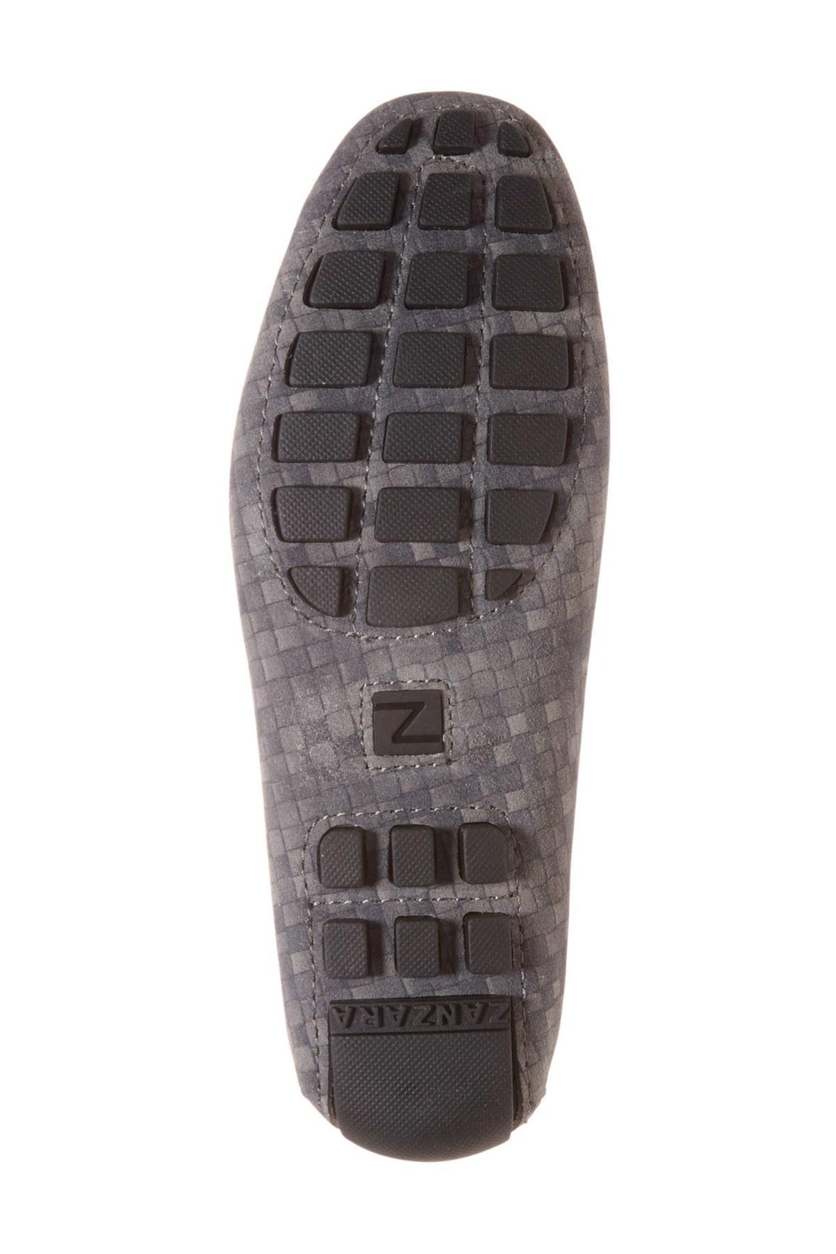 Zanzara U0026#39;davinciu0026#39; Driving Loafer In Gray For Men | Lyst