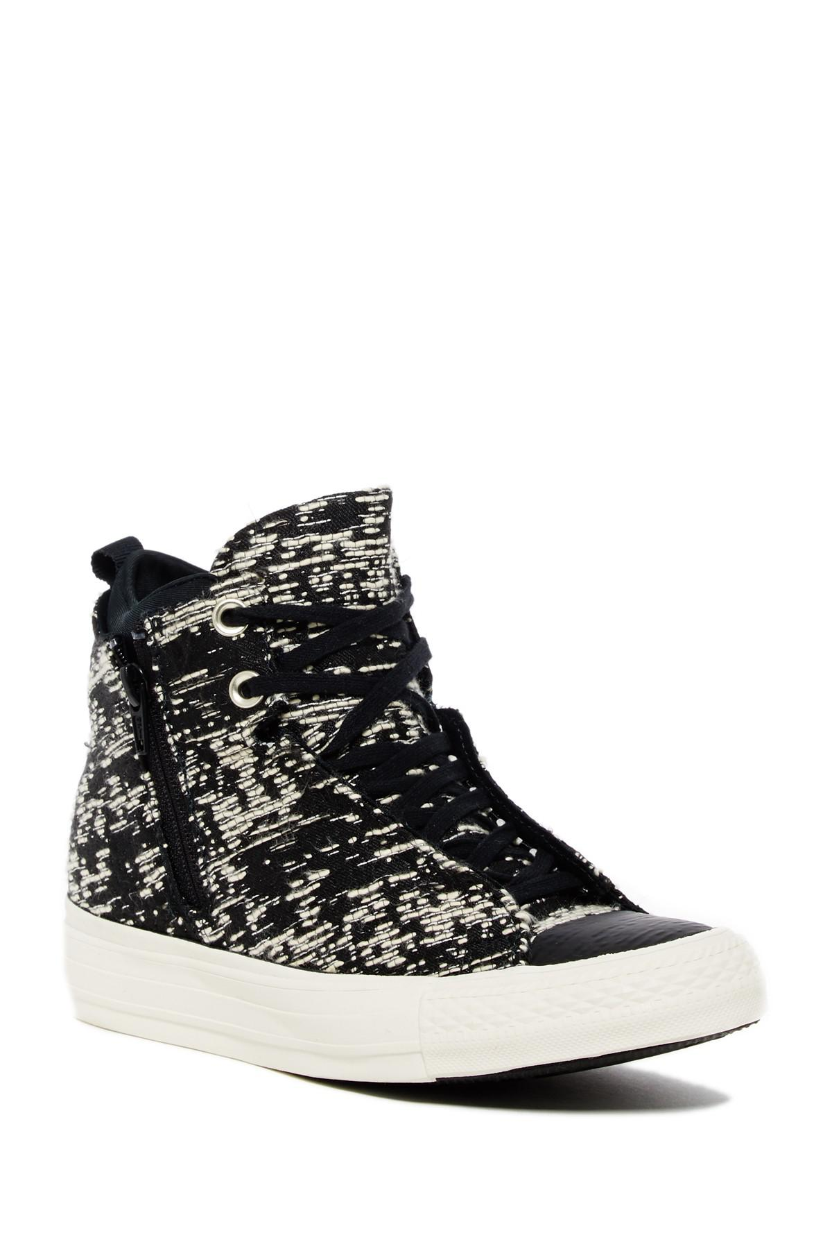 153ee385b2f6 Lyst - Converse Chuck Taylor All Star Selene Winter Knit Hi Top ...