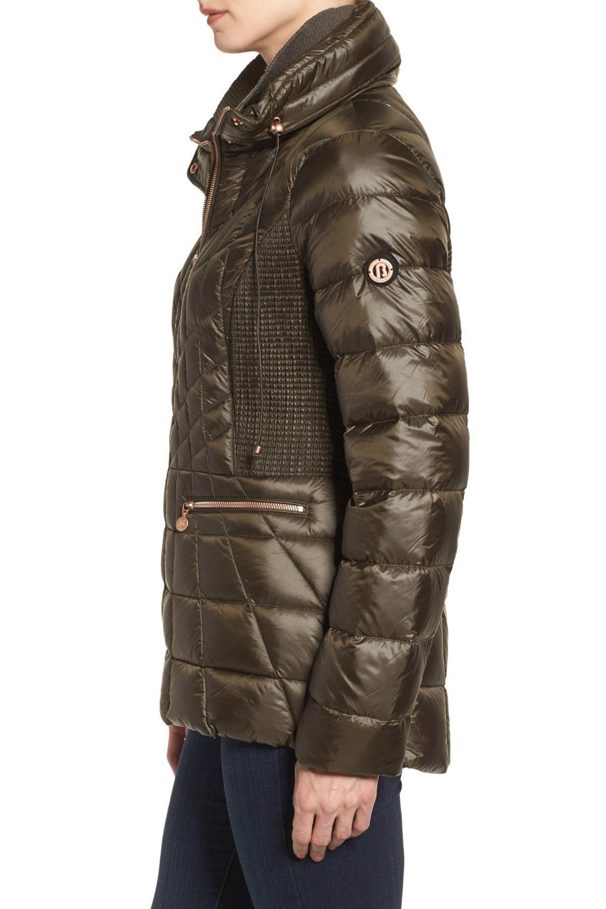 Bernardo Packable Jacket With Down & Primaloft Fill, Green ...