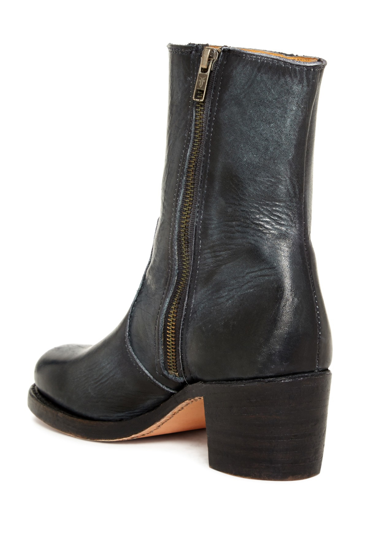 Lyst Frye Sabrina Side Zip Boot In Black
