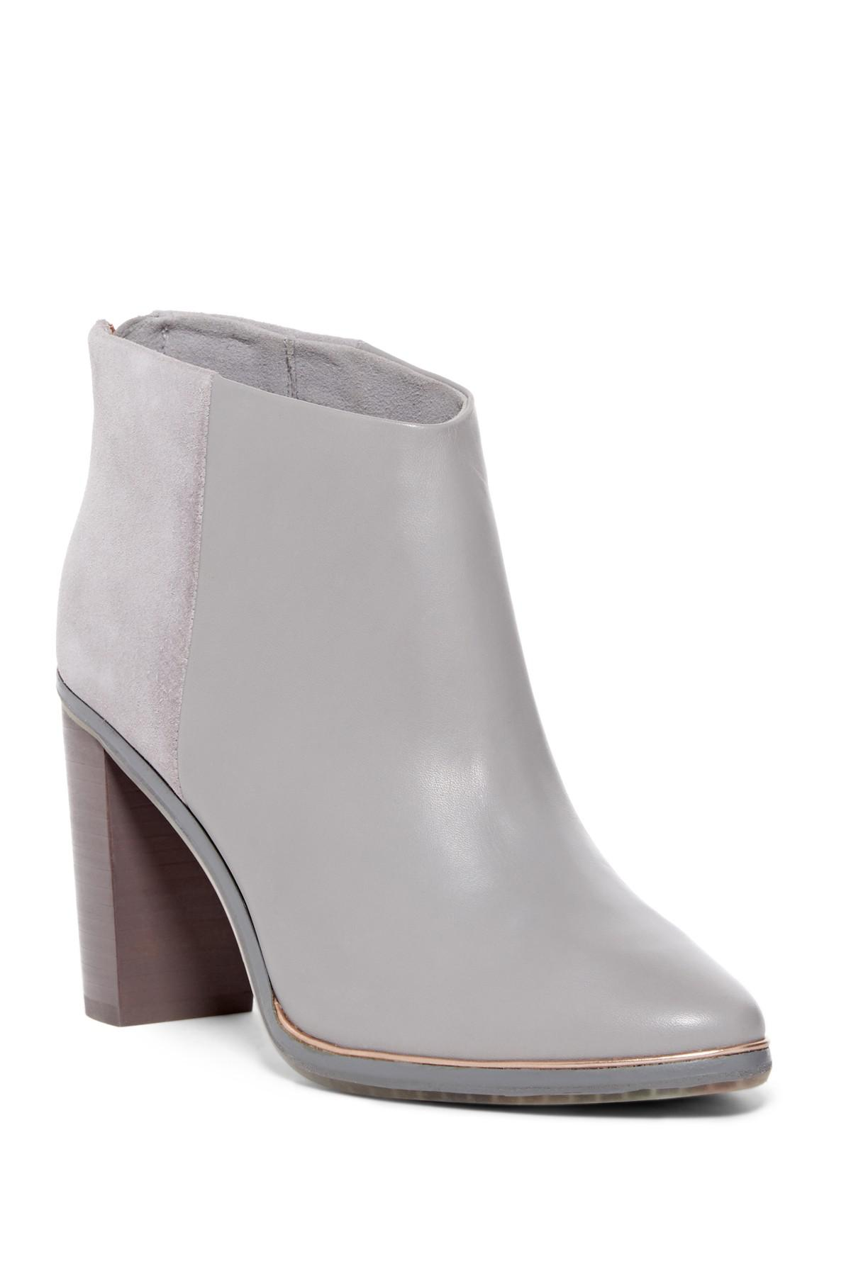 945ea2921346ed Lyst - Ted Baker Azaila Contrast Boot in Gray