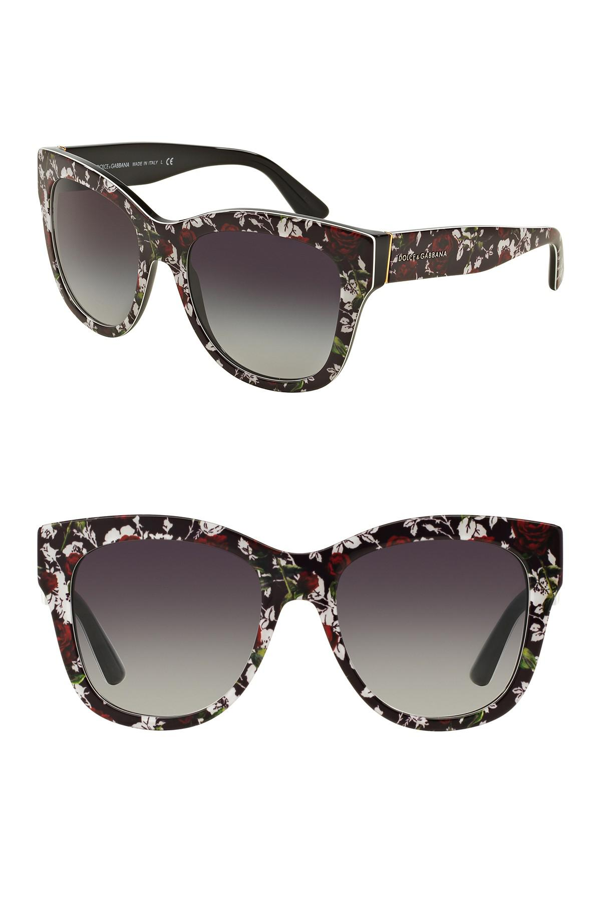 428eb2af24 Dolce   Gabbana - Multicolor 55mm Gradient Sunglasses - Lyst. View  fullscreen