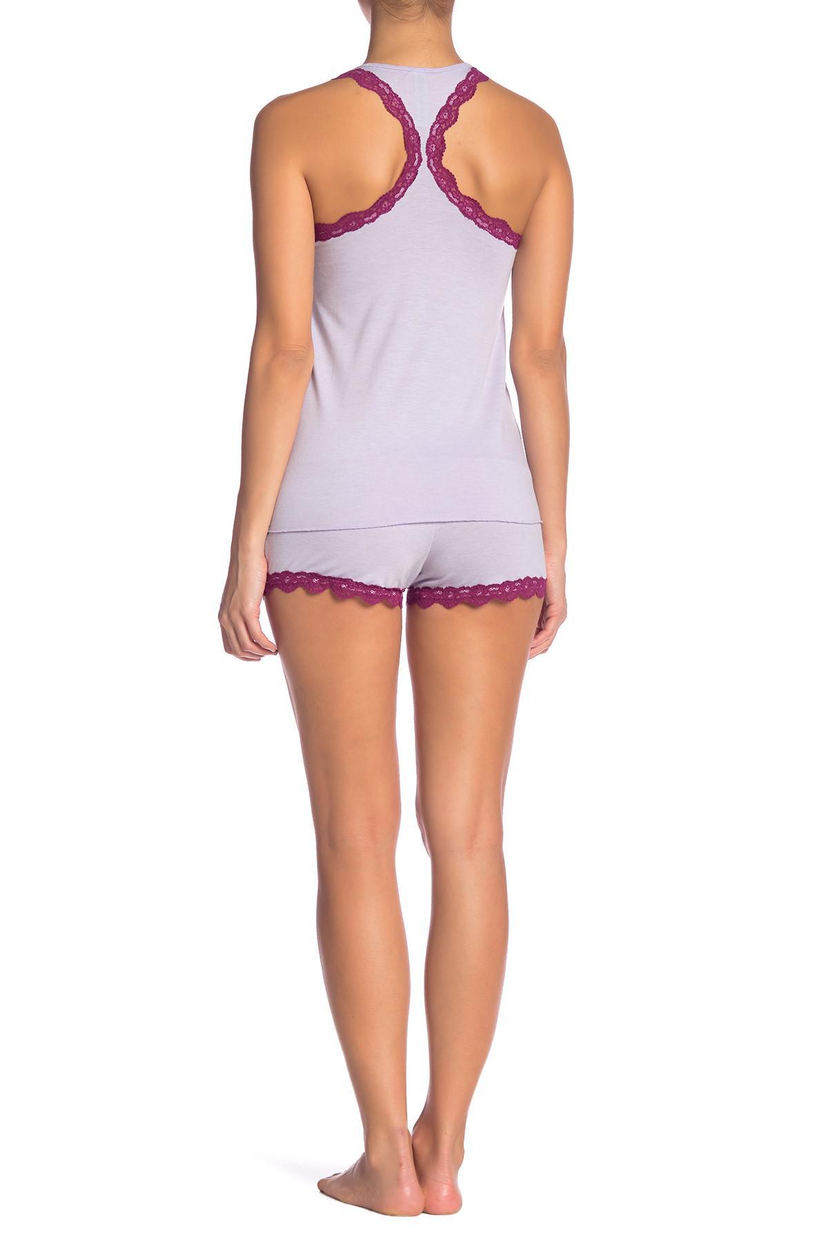 ac197efeb8 Honeydew Intimates - Purple All American Short Pajama Set - Lyst. View  fullscreen