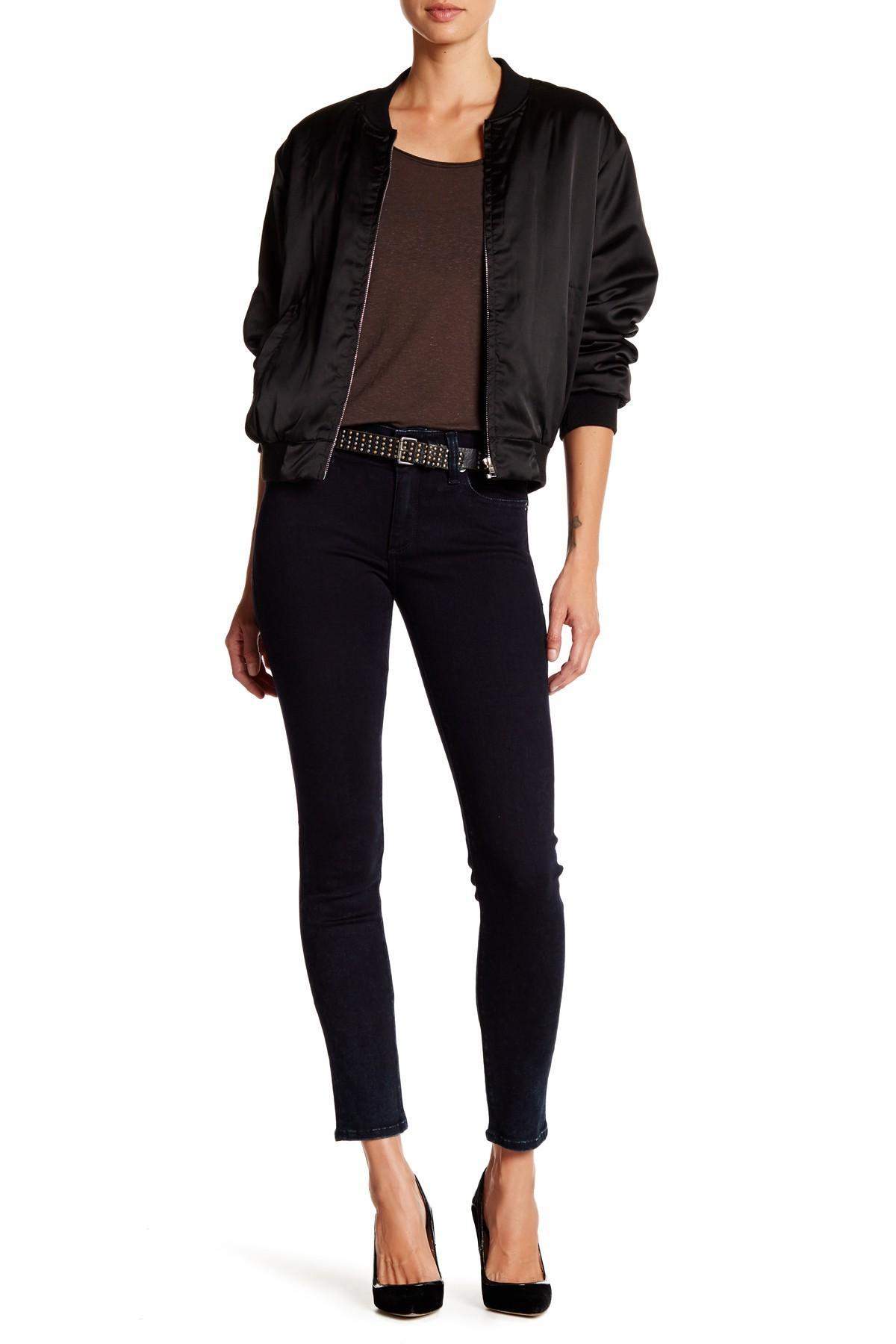 Lyst Lucky Brand Brooke Legging Jean In Black