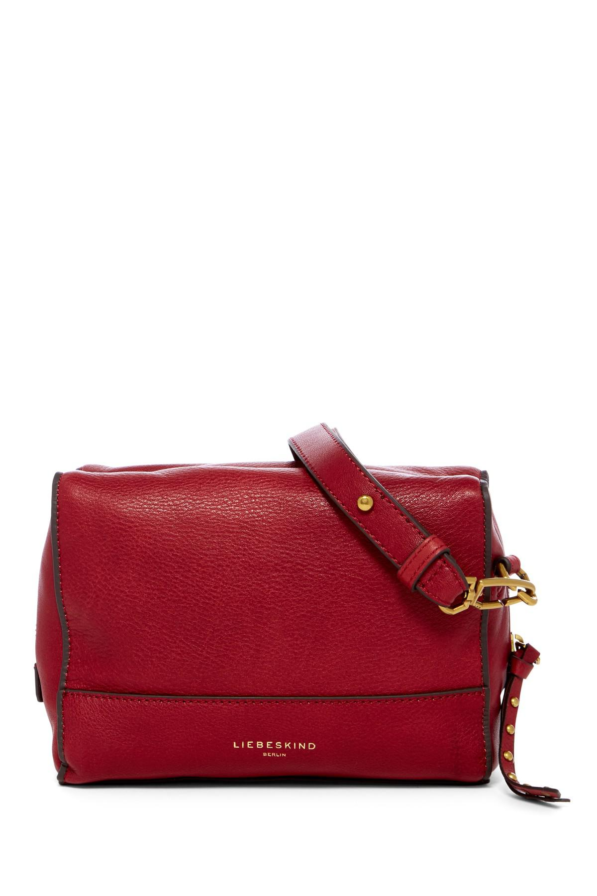 Liebeskind Berlin Syracuse Milano Leather Crossbody Bag Lyst