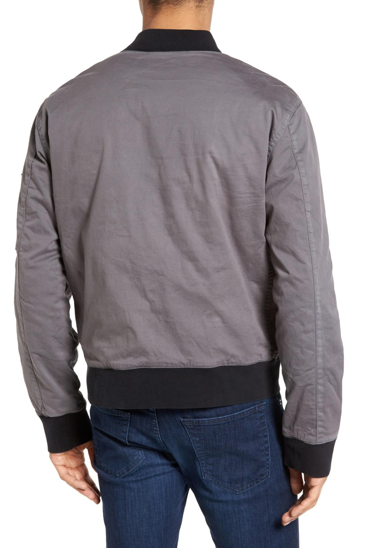 a8237127b Lyst - Hudson Jeans Knox Twill Bomber Jacket for Men