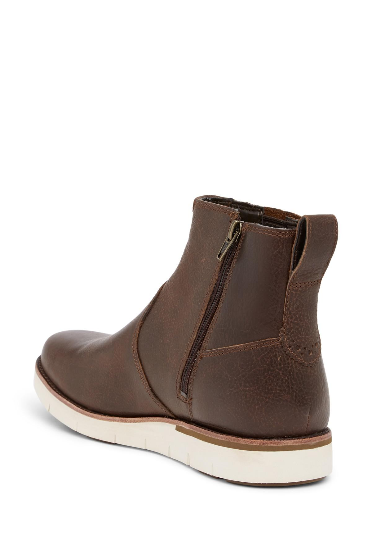 Flotar Imperio Pogo stick jump  Timberland Leather Preston Hills Chelsea Boot in Brown for Men - Lyst