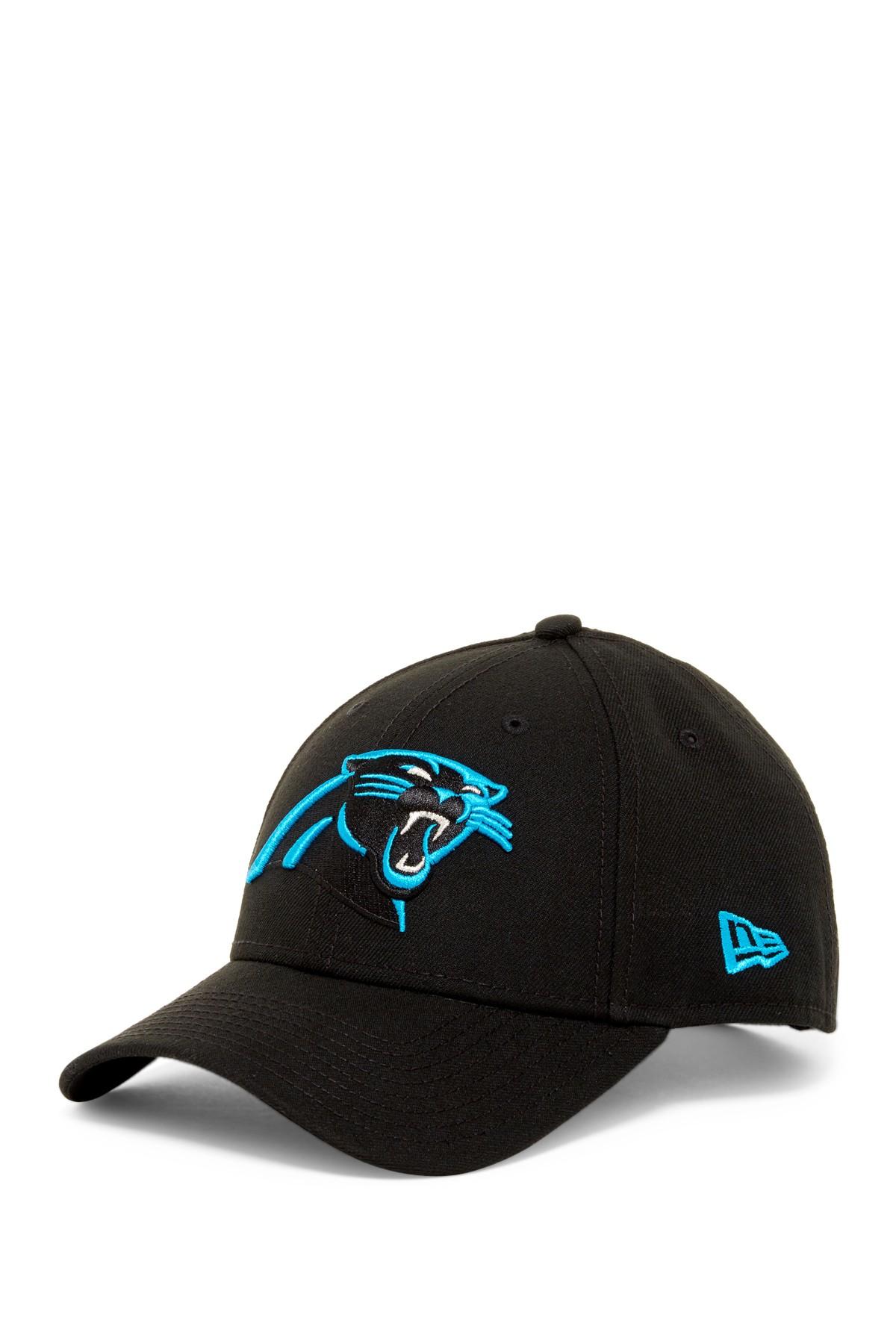 Ktz Nfl Carolina Panthers Black Twill Football Cap In