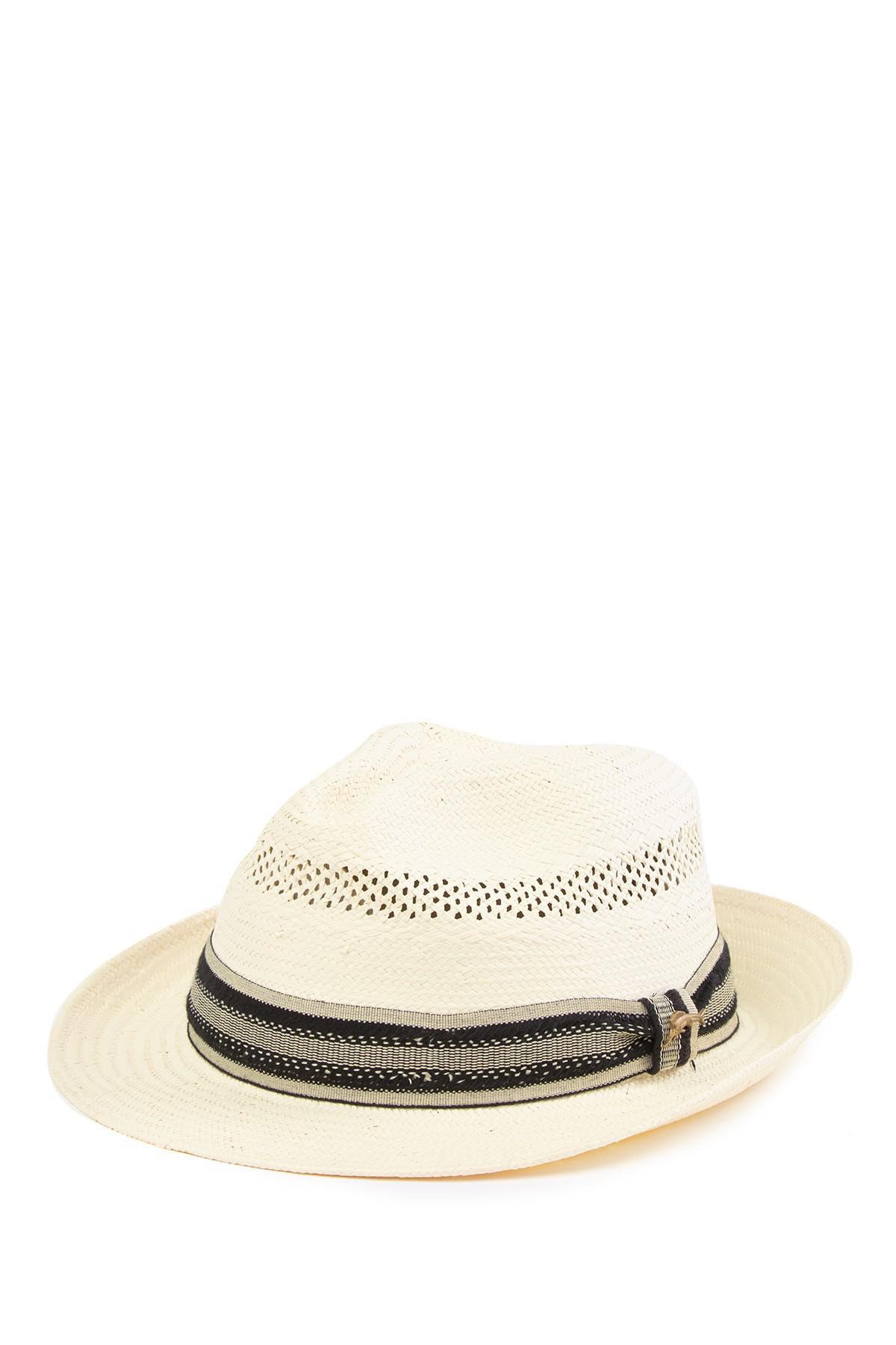 a321c6e80c3d5 Lyst - Tommy Bahama Toyo Fedora in Natural for Men