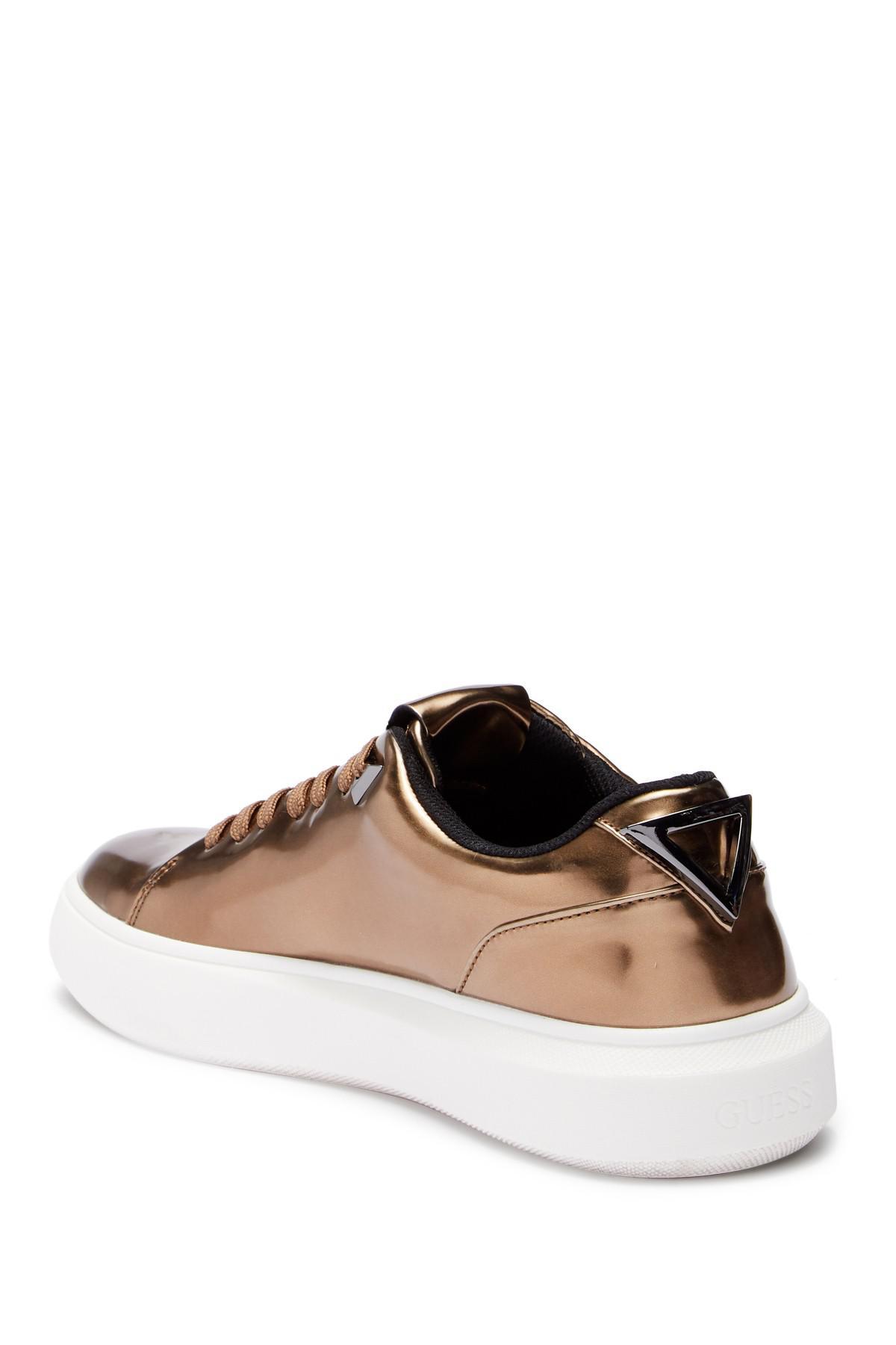 2ce1f63f2d5 Guess - Brown Dela Cruz Sneaker for Men - Lyst. View fullscreen