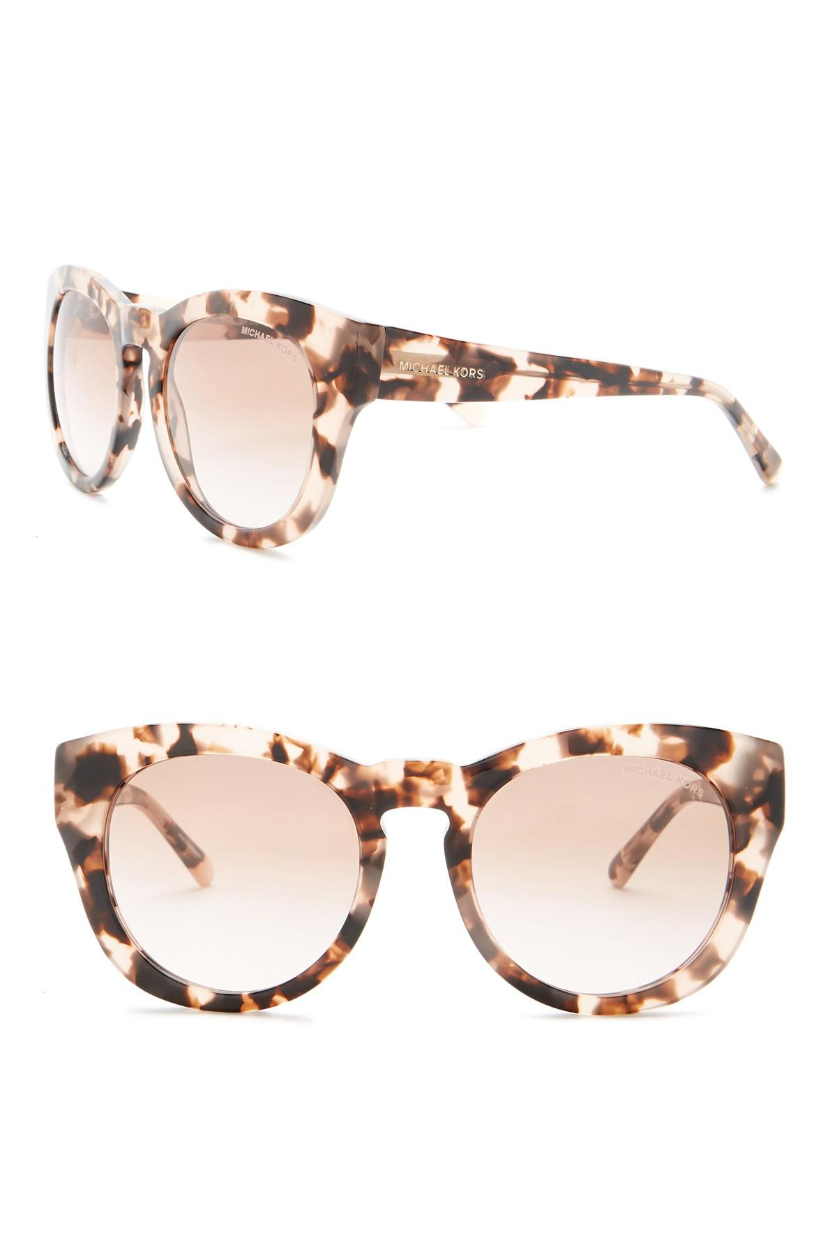 a1ab165f1814 Lyst - Michael Kors Women's Round Sunglasses in Pink