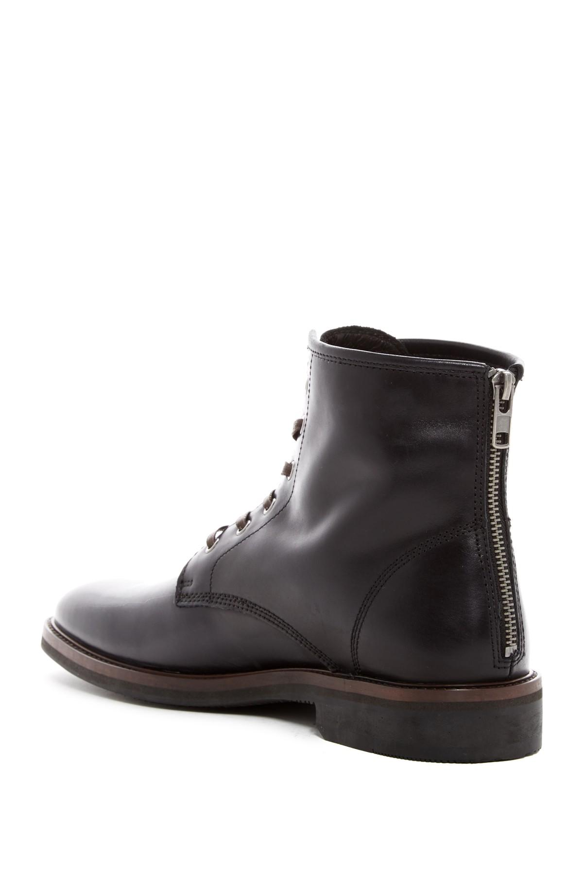 Wolfe Camper Sales >> Bacco Bucci Leather Wolfe Lace-up Boot in Black for Men - Lyst