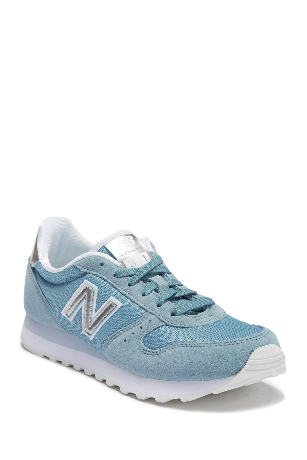 cae5bb0054b New Balance - Blue 311 Classic Sneaker - Wide Width Available - Lyst. View  fullscreen