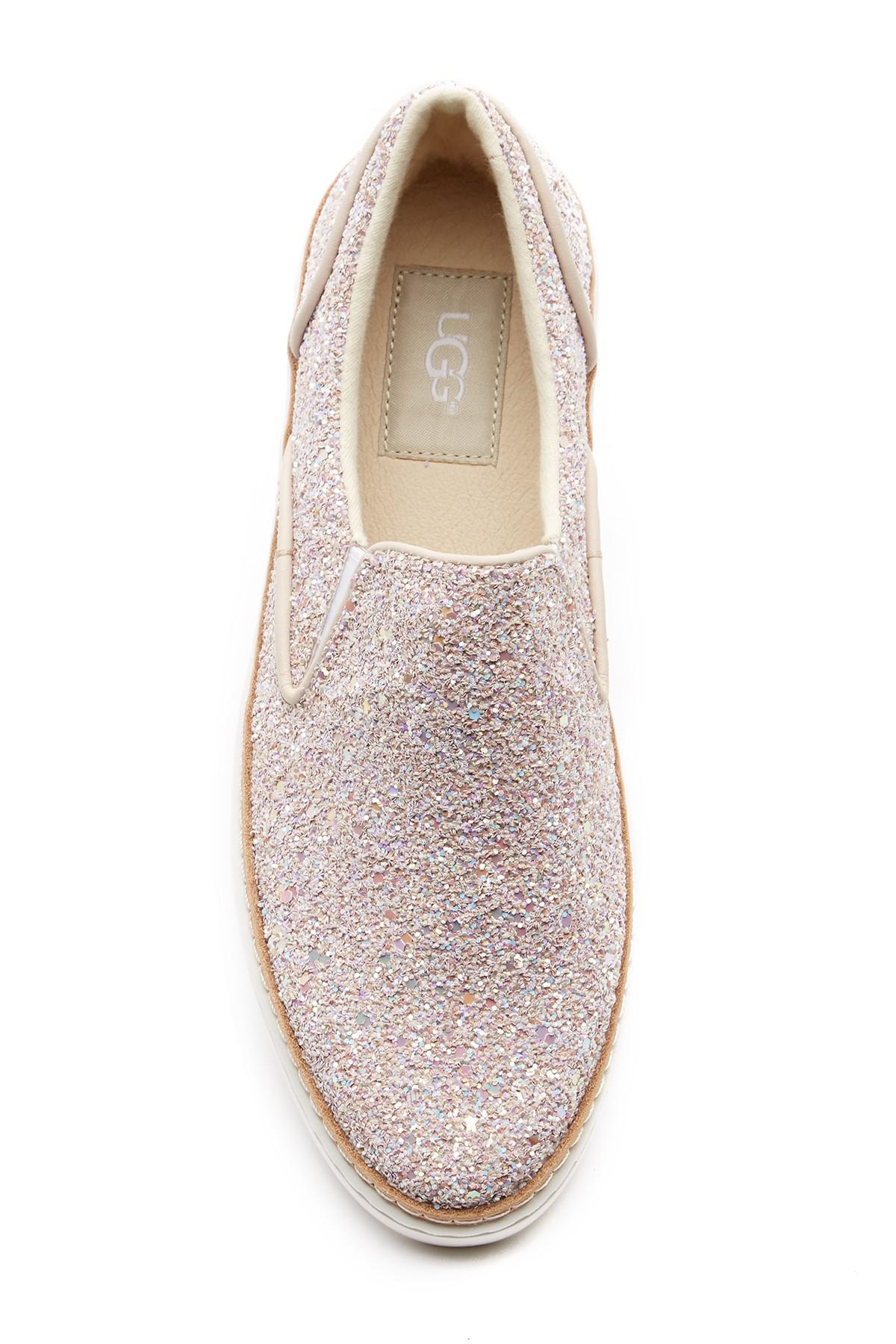 215ef10ff78 Ugg Multicolor Adley Chunky Glitter Slip-on Sneaker