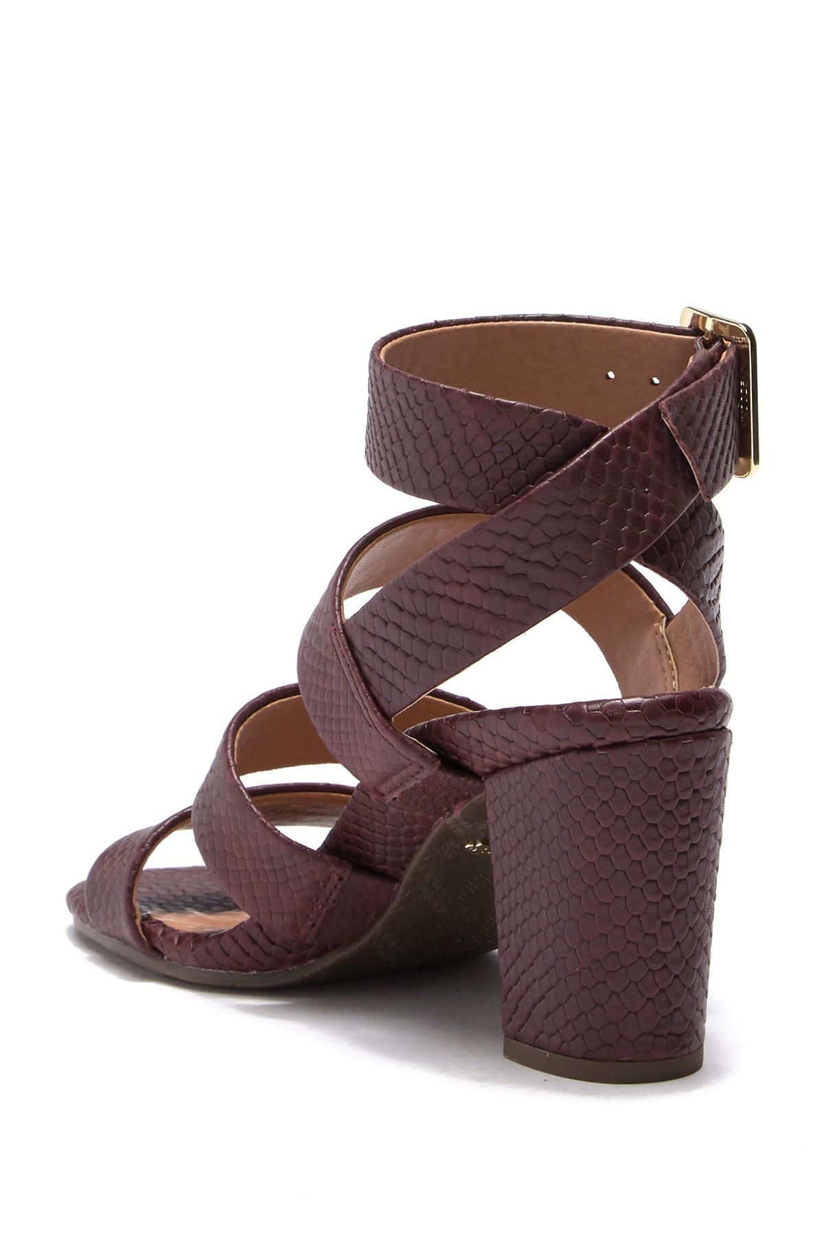 35cbe874bbf0 Vionic - Brown Blaire Block Heel Sandal - Lyst. View fullscreen