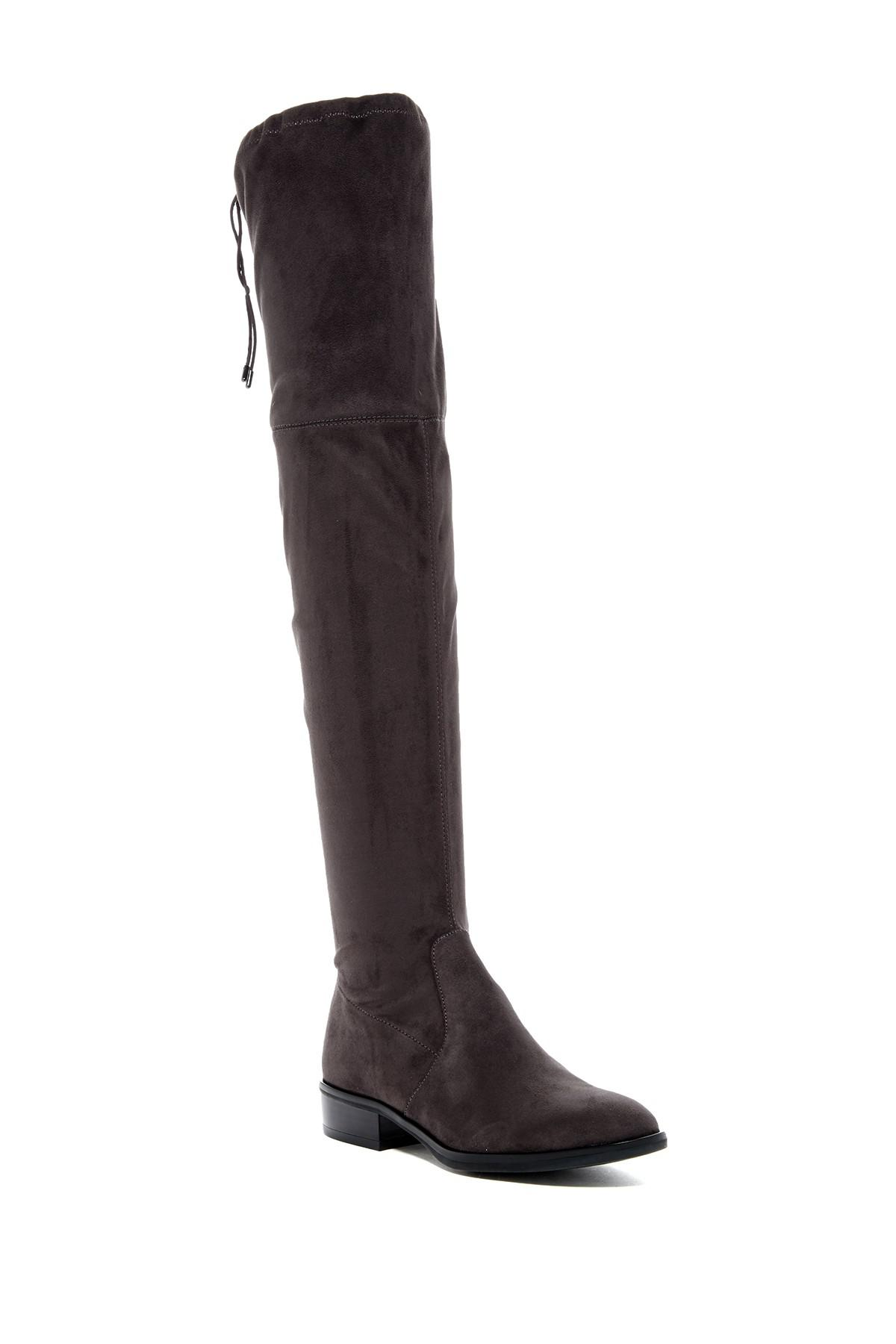 11deb3a6283 Lyst - Sam Edelman Paloma Over-the-knee Boot in Gray