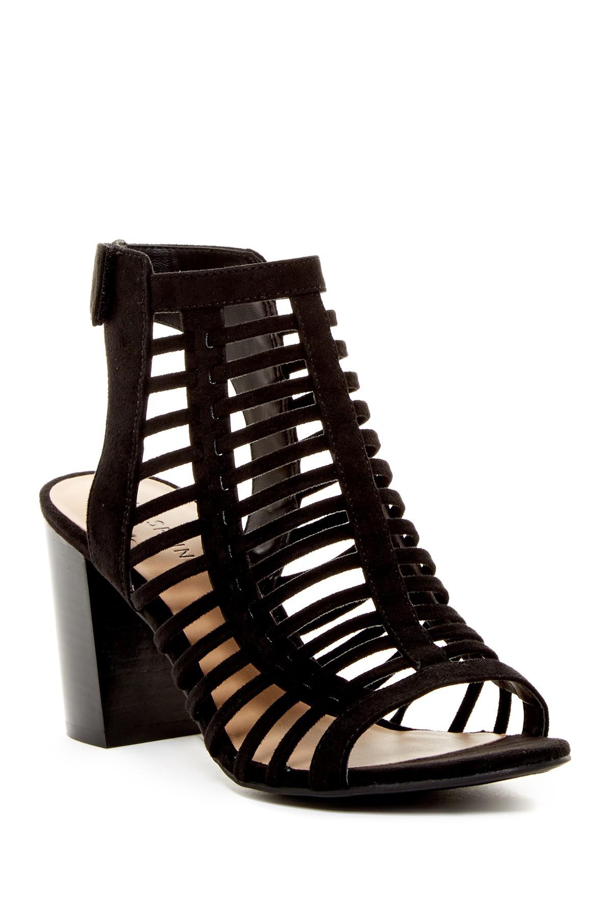 a2263126fce Lyst - Call It Spring Miriradia Caged Sandal in Black