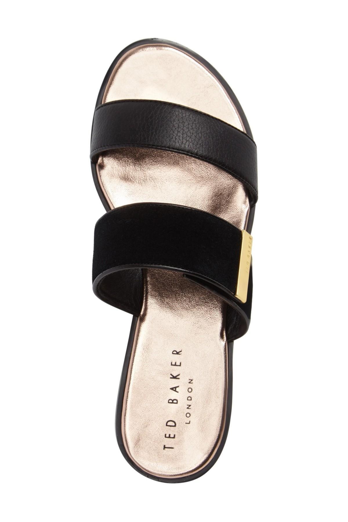 Ted Baker Ijoe Slide Sandal In Black Lyst