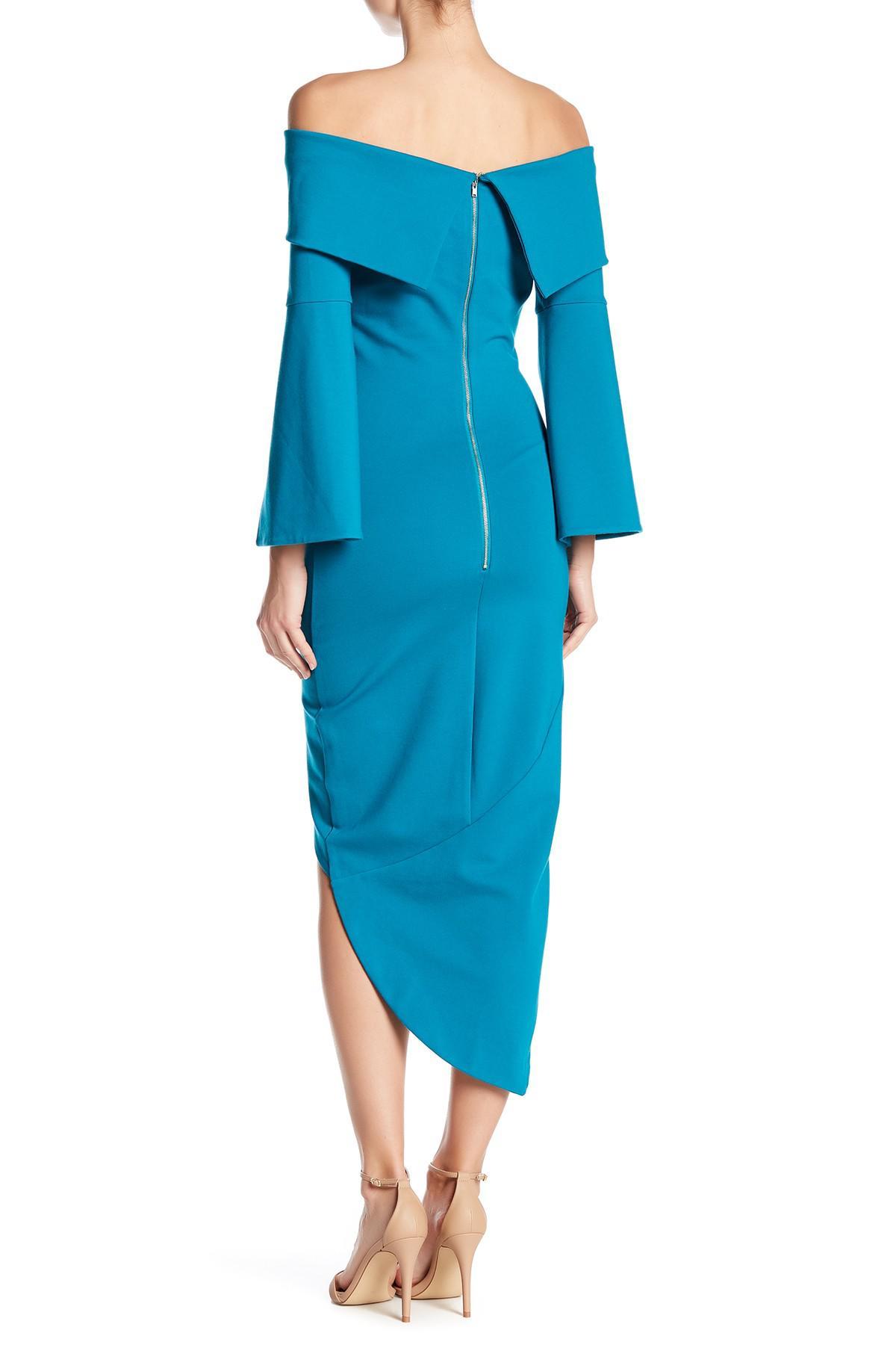 f285eae960b2 Lyst - Elliatt Womens Spark Popover Off-the-shoulder Cocktail Dress ...