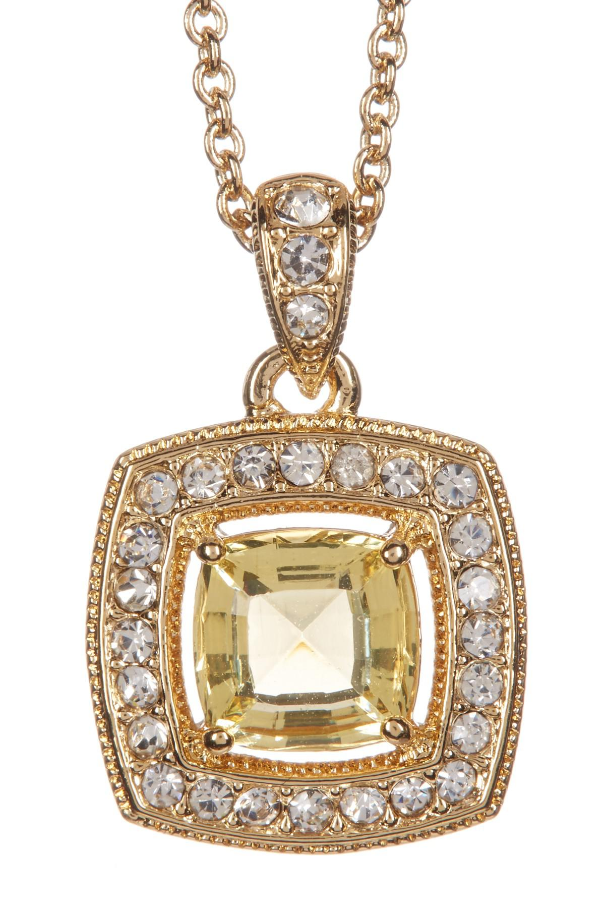 gem necklace cushion ct topaz itm blue fully gold pendant miore white square cut hallmarked and diamonds diamond
