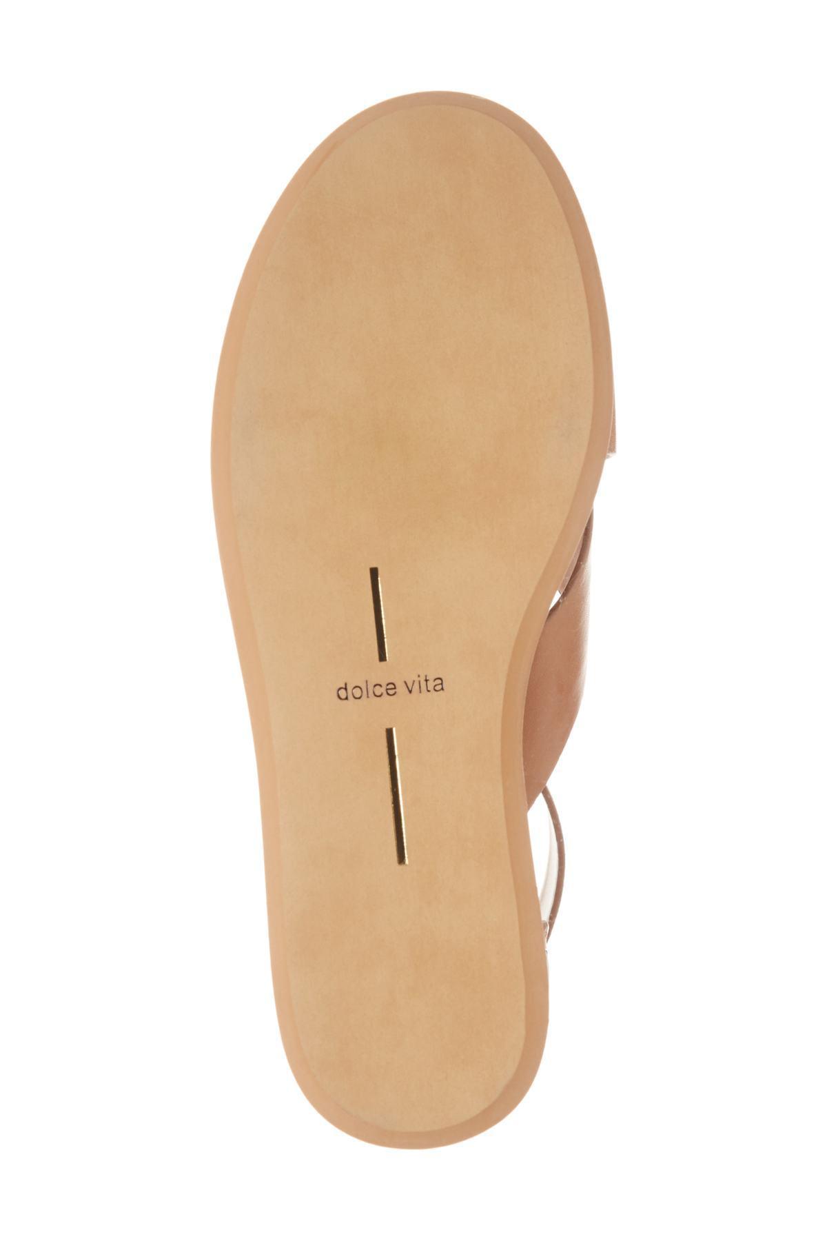 df7b625d2c3 Lyst - Dolce Vita Dalrae Platform Wedge Sandal (women) in Brown