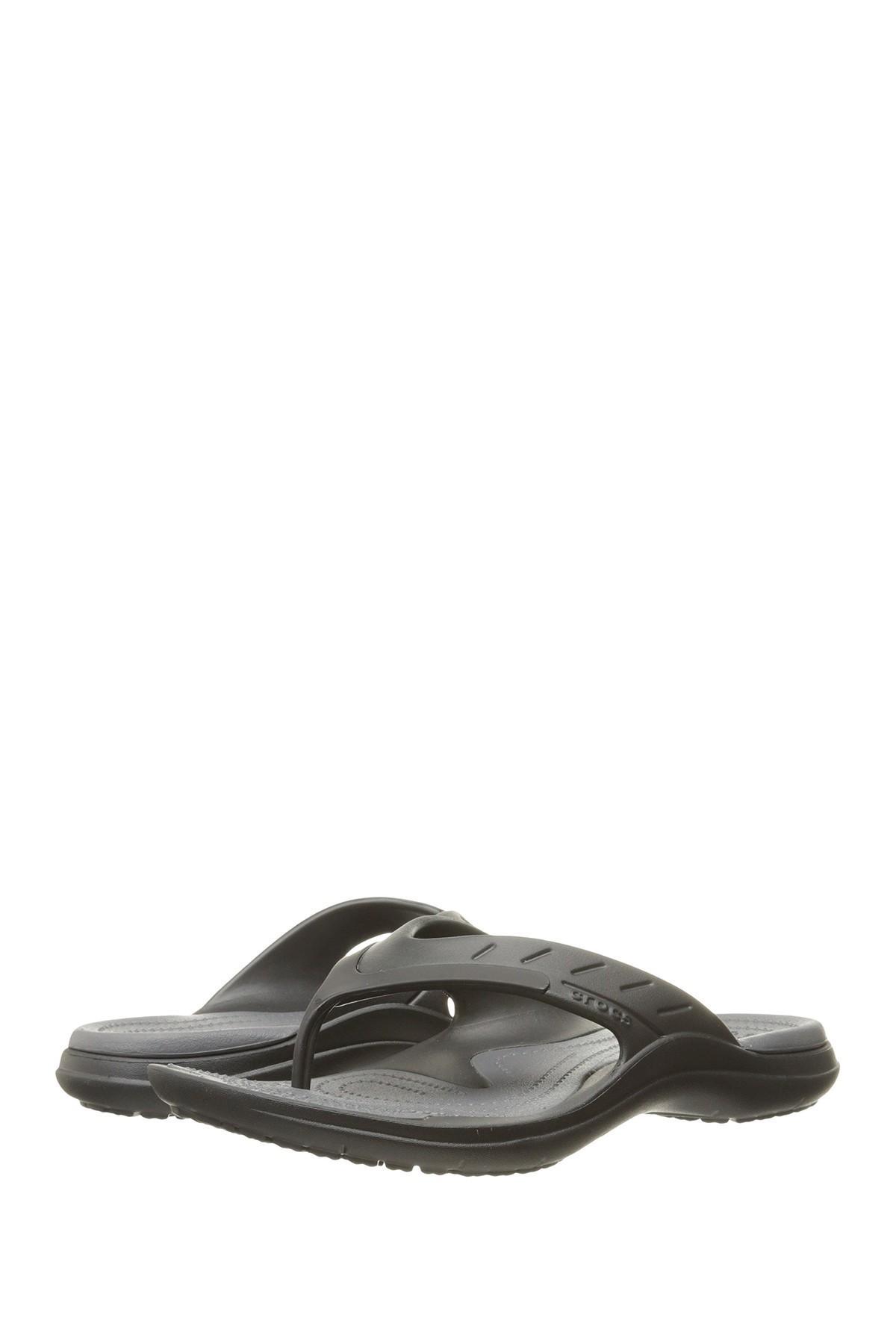 d4e753227 Crocs™ - Black Modi Sport Flip Flop for Men - Lyst. View fullscreen