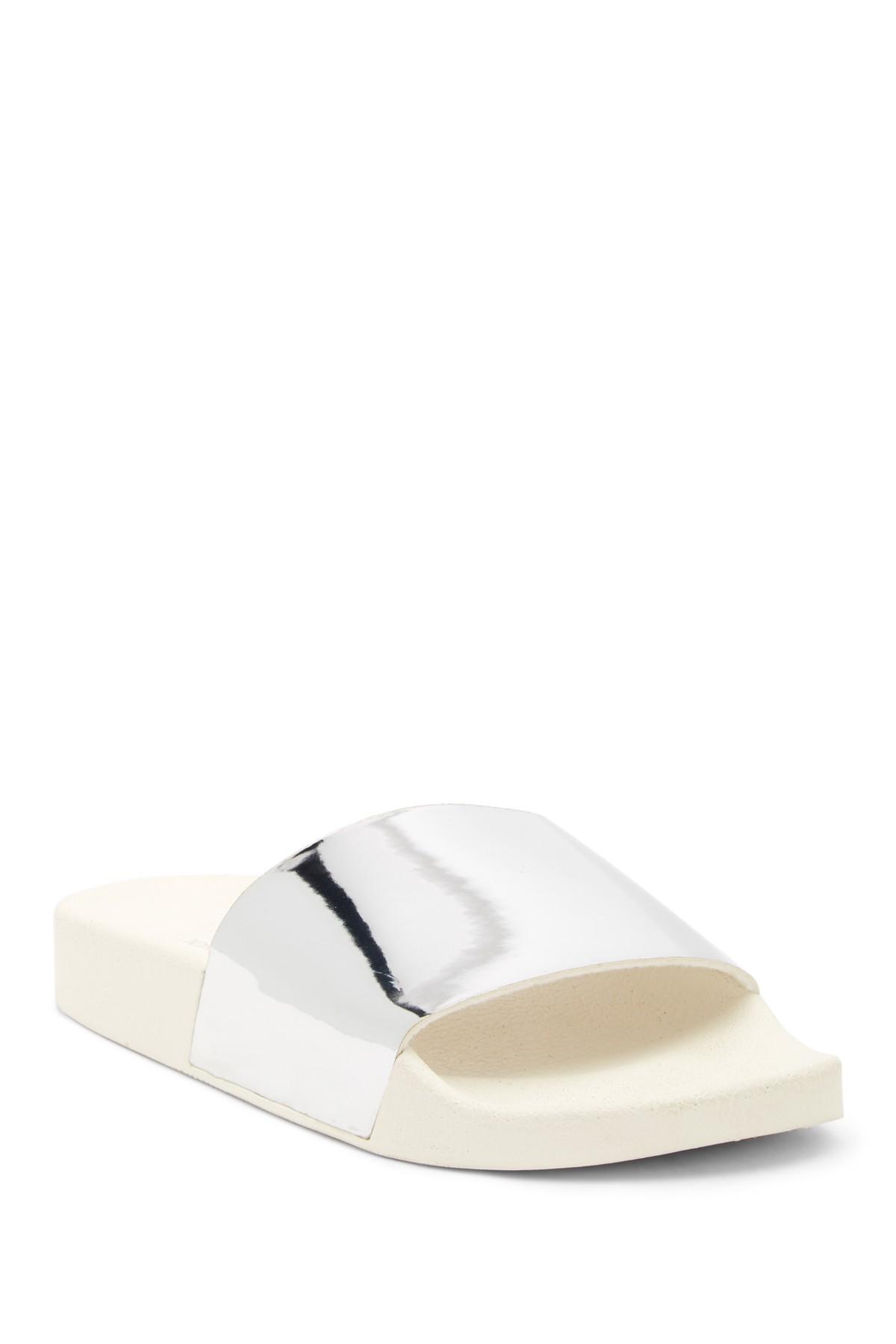 293c244d249 Lyst - Tony Bianco Slide Sandal in Metallic
