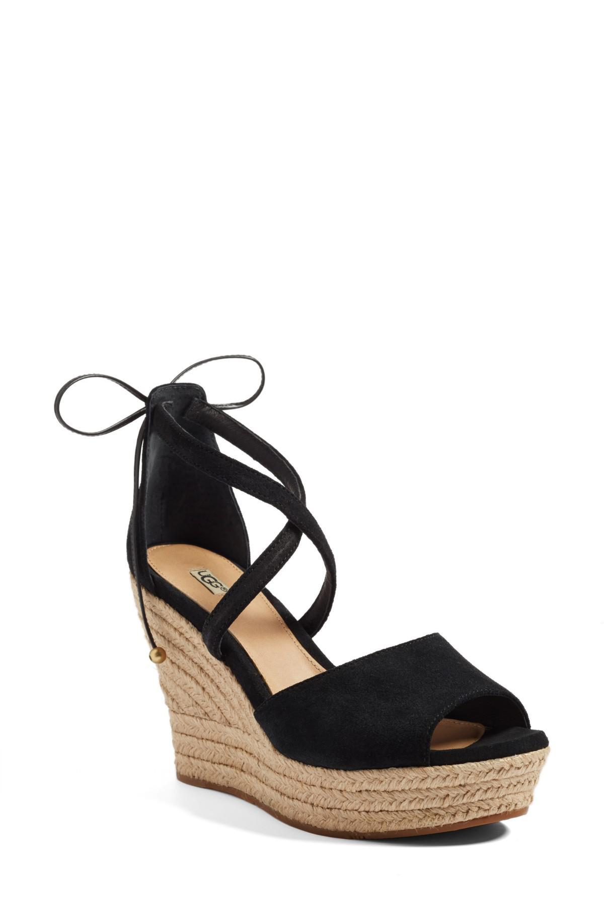 d4f4ca56502 Lyst - UGG Ugg(r) Reagan Sandal (women) in Black