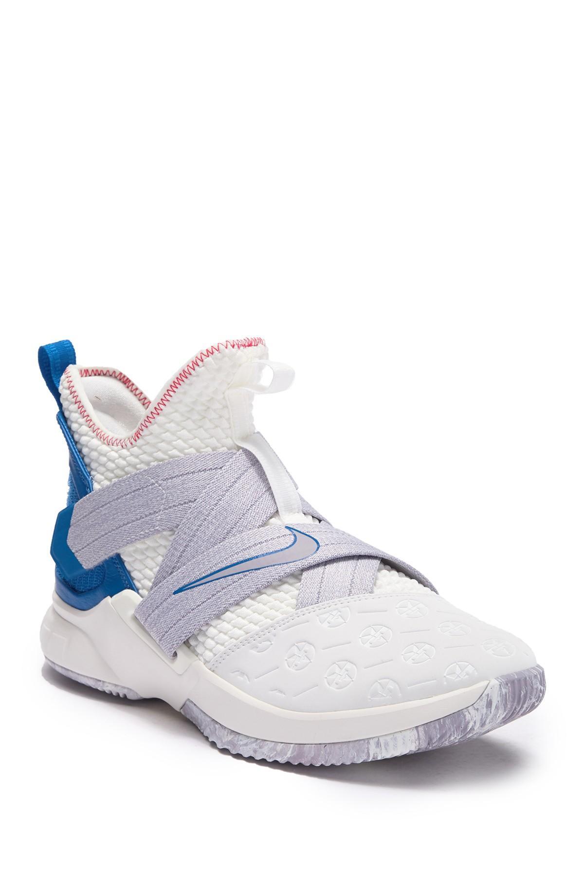 22a942b6e1e0 Lyst - Nike Lebron Soldier Xii Sneaker in White for Men