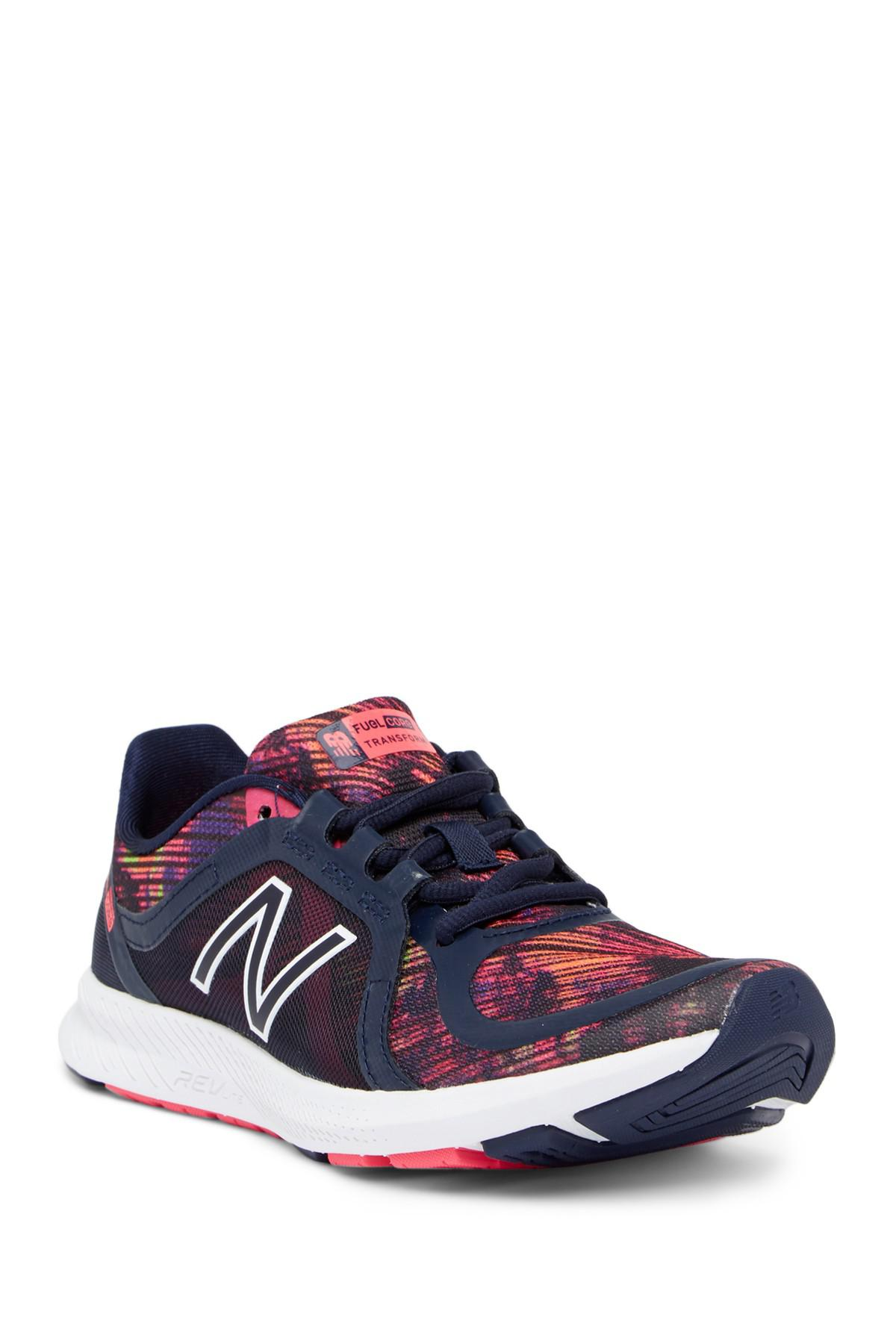 Wx77v2 Training Sneaker in Navy/Pink