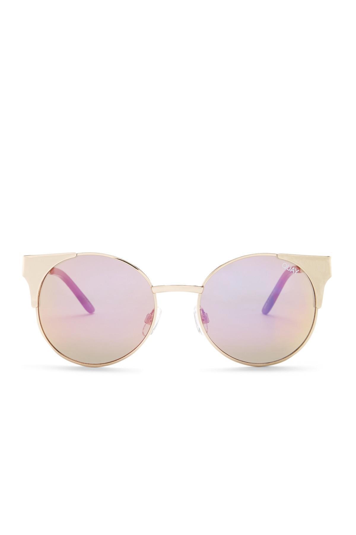 efc200d723 Quay Women s Asha Cat Eye Sunglasses - Lyst