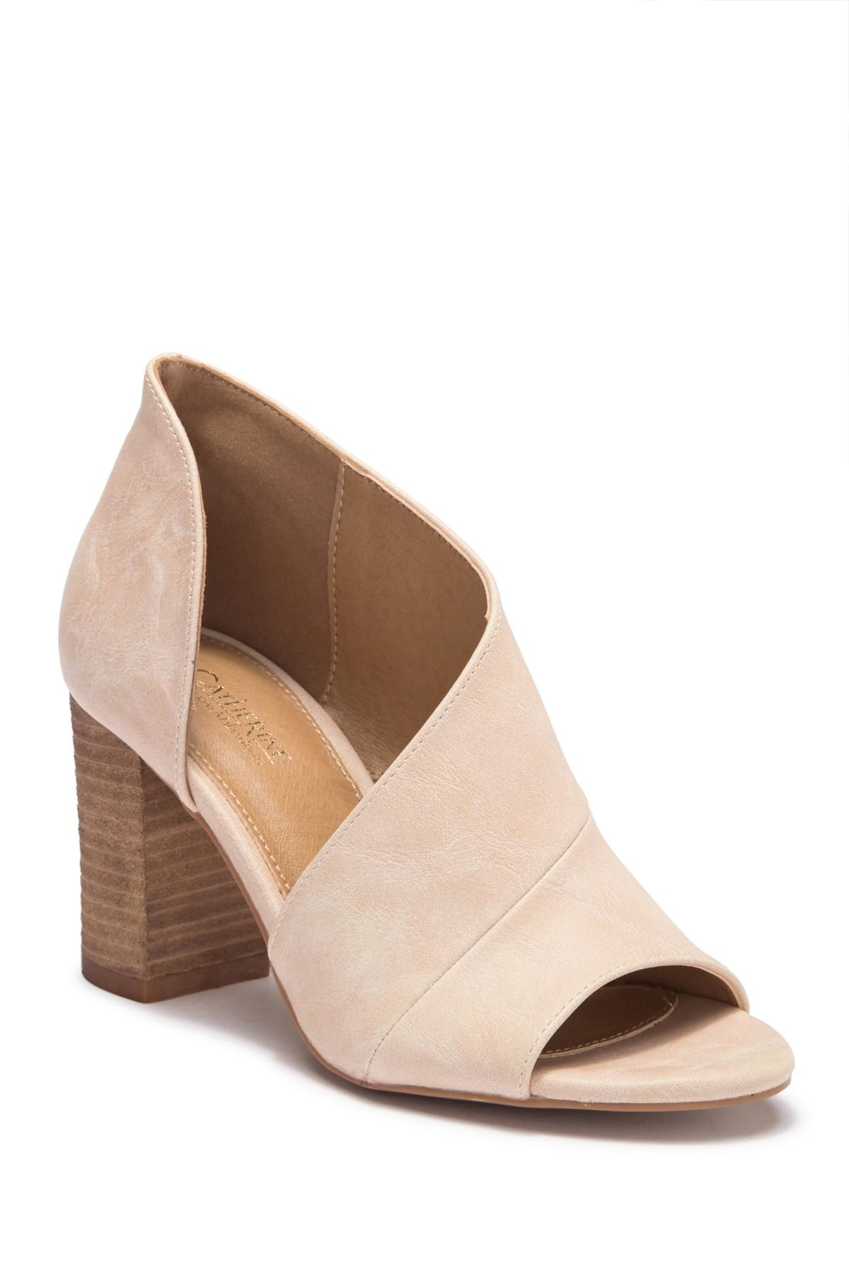 8d6c5a87886 Lyst - Catherine Malandrino Alio D orsay Sandal in Natural