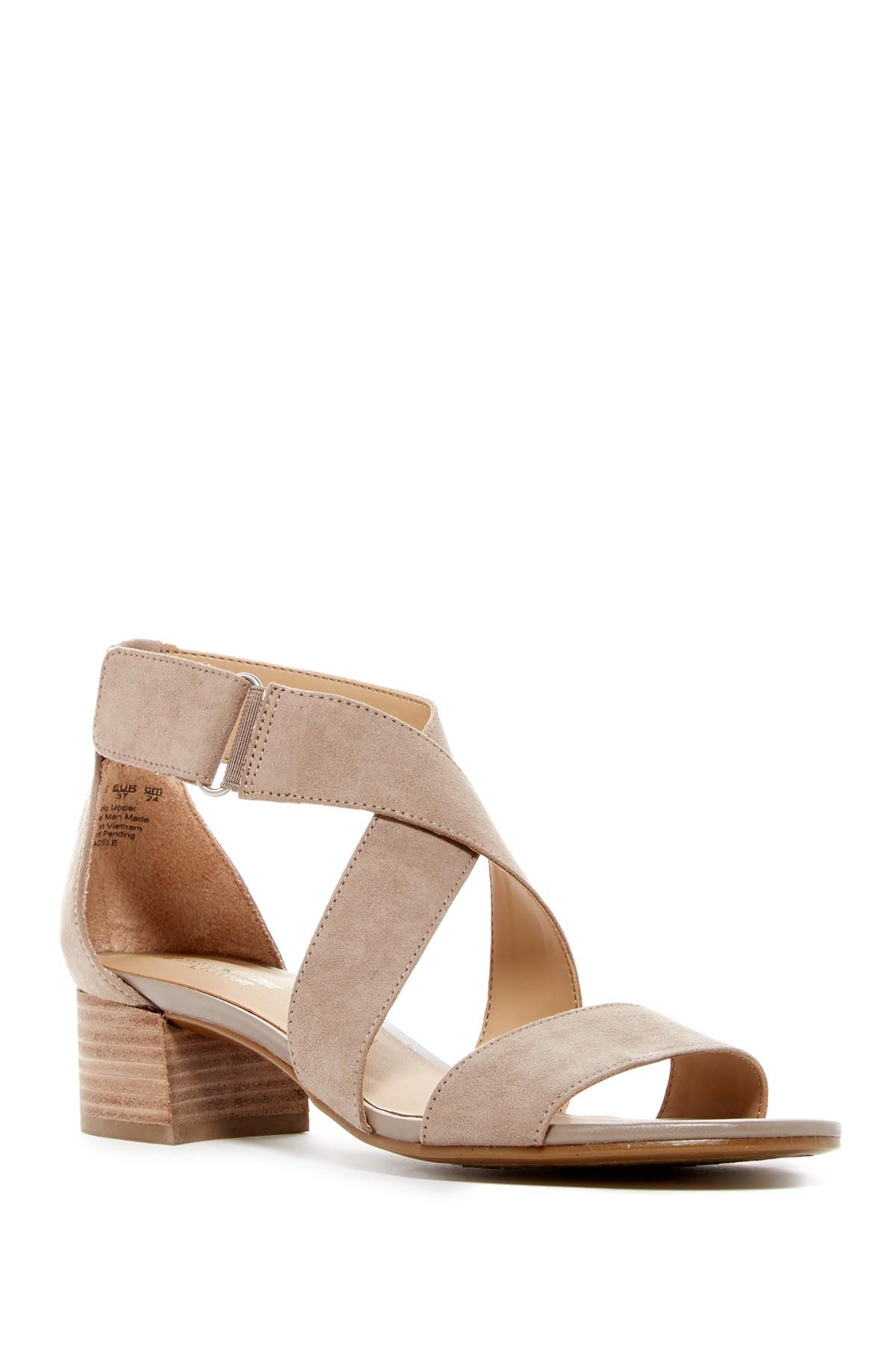 Naturalizer Adele Block Heel Sandal Wide Width Available