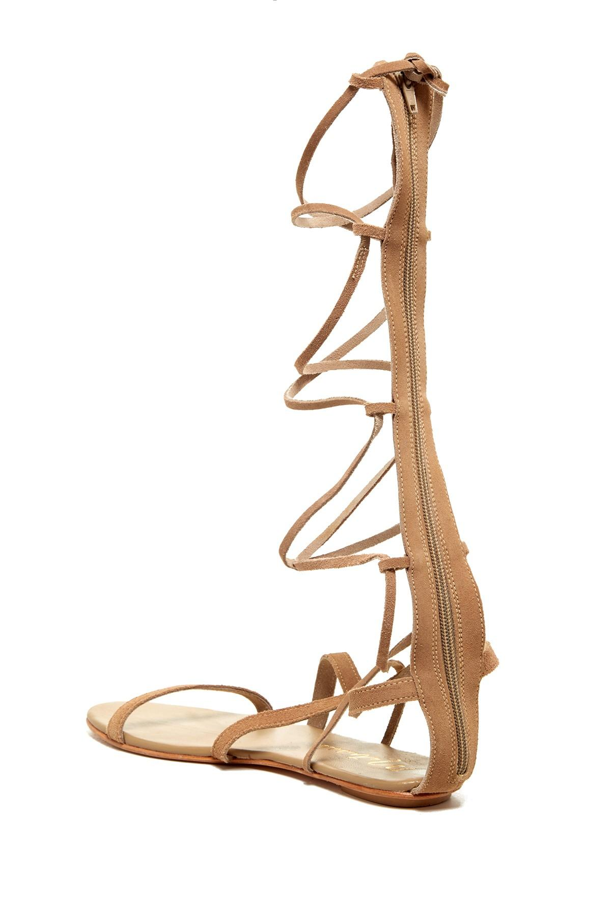 ee5f45ce1219 Lyst - Matisse Atlas Tall Gladiator Sandal in Natural